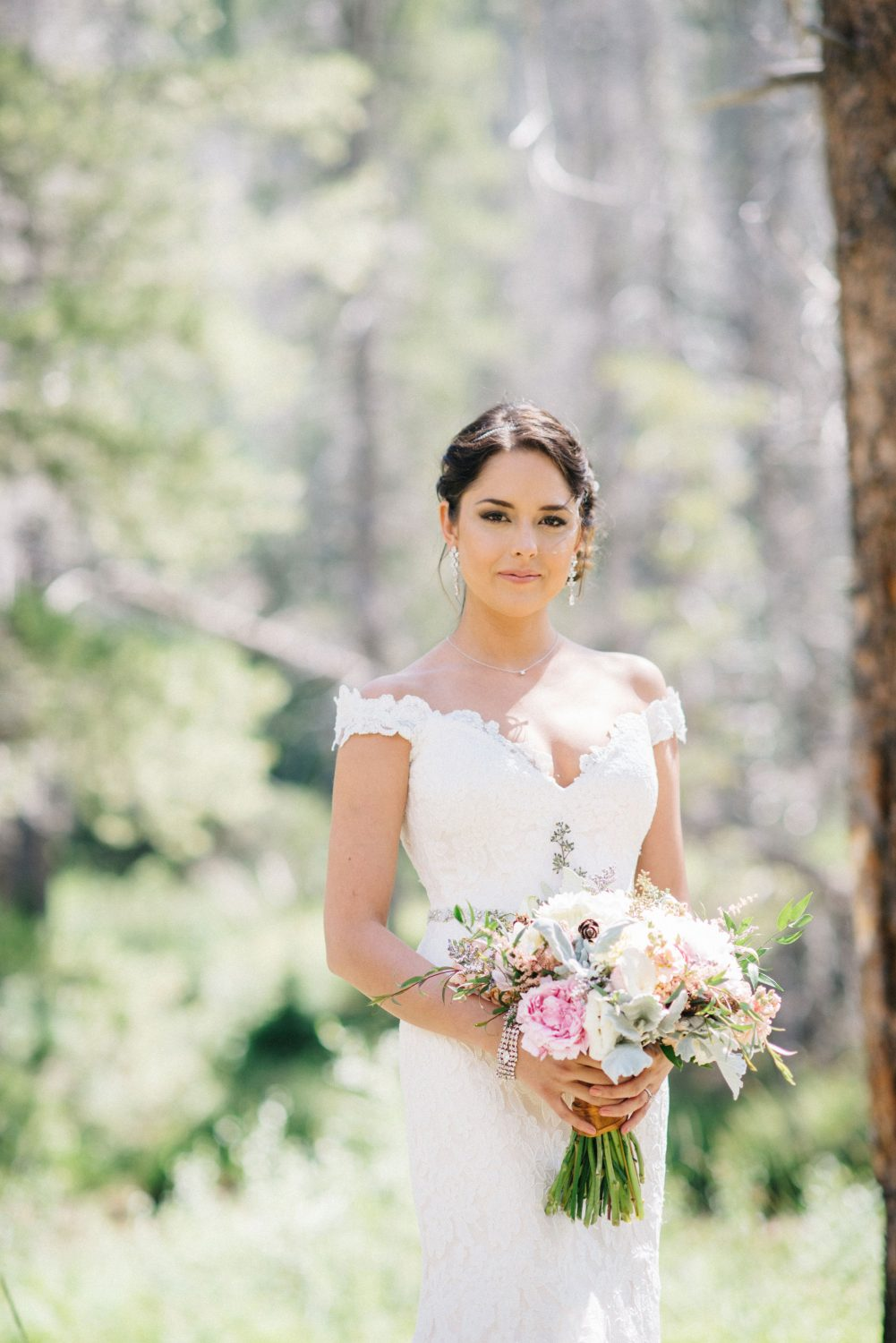 a celestial inspired mountain wedding in vail - luxe mountain