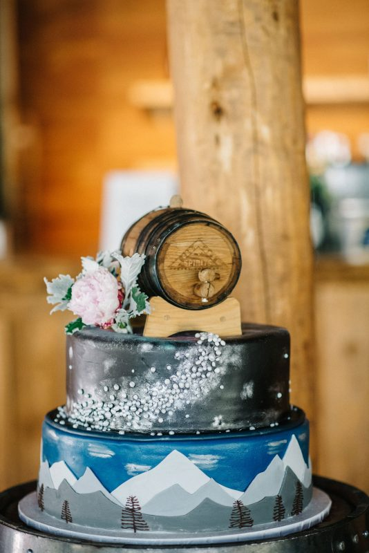 A Celestial Inspired Rocky Mountain Wedding