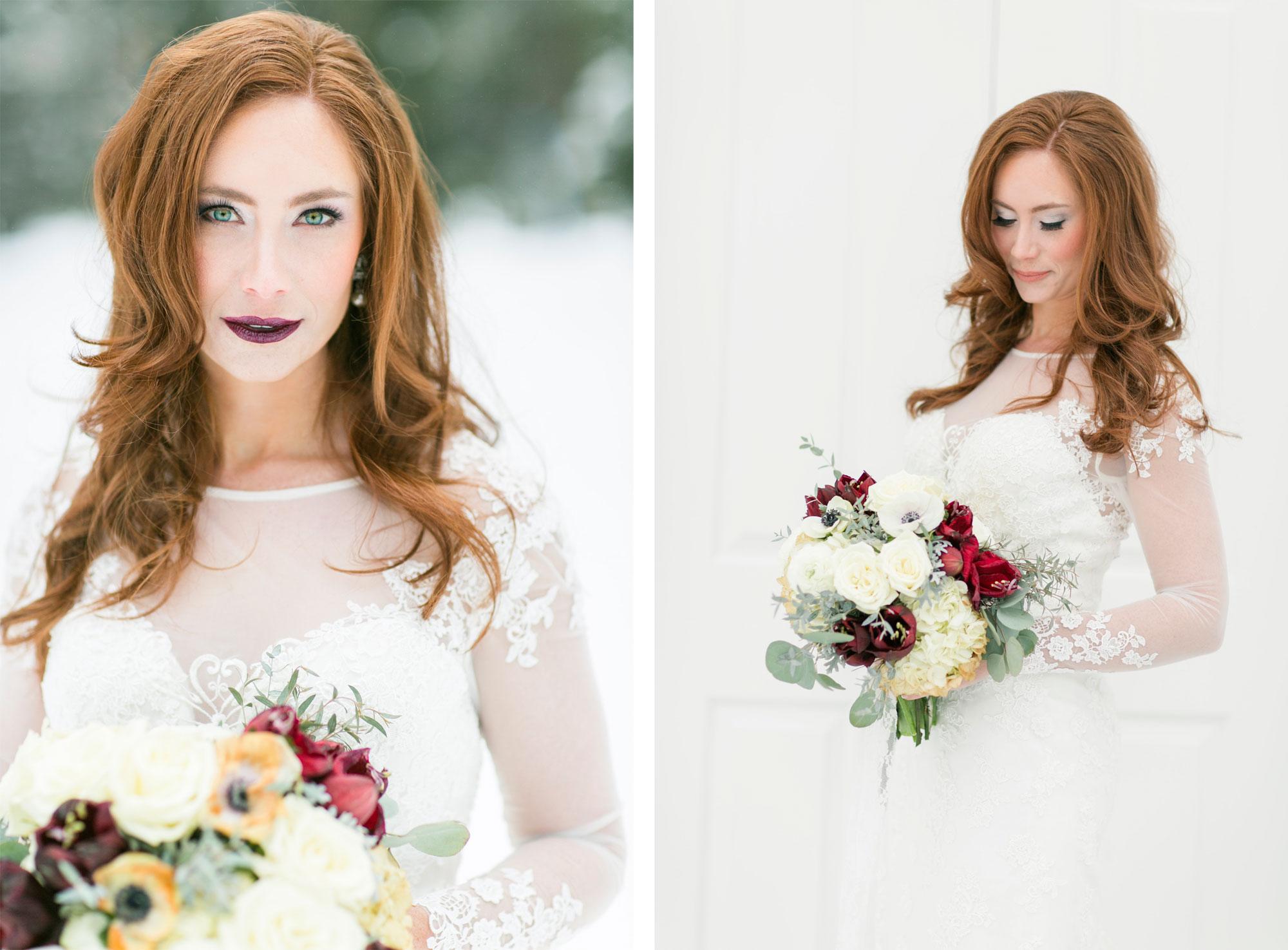 Winter Wedding Inspiration in Idaho - Luxe Mountain Weddings ...