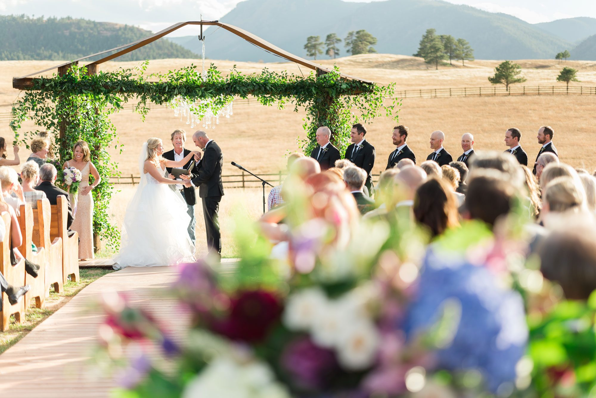 An Elegant Ranch Wedding in Colorado