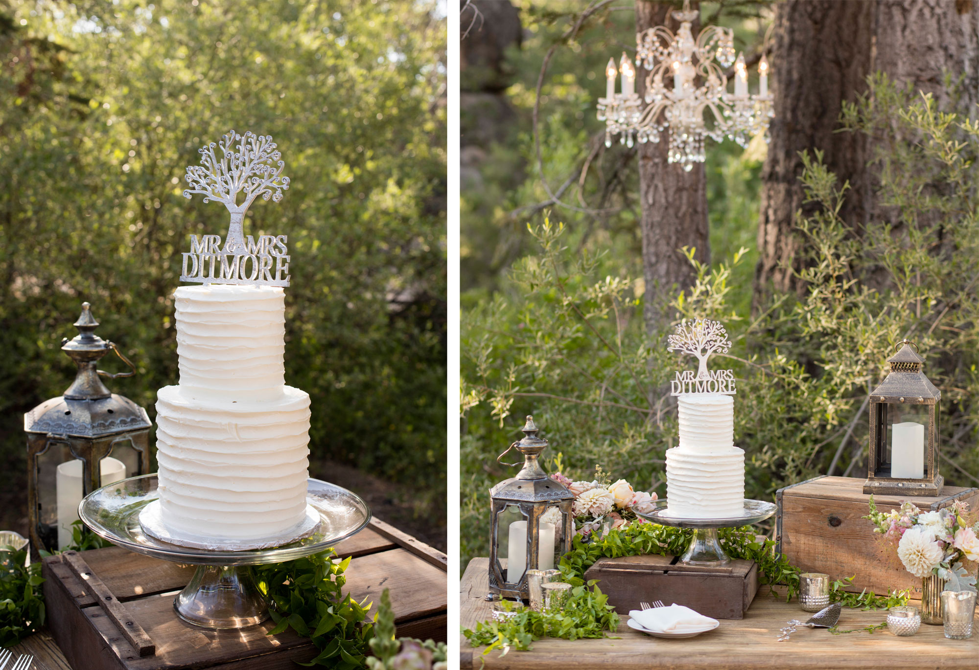 A Campground Wedding on Big Bear Lake, California