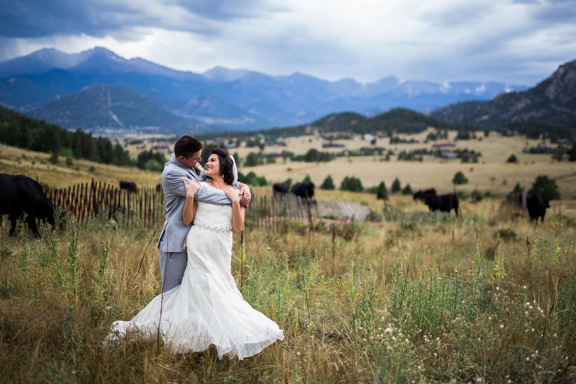 An Intimate Mountain Wedding in Estes Park, Colorado