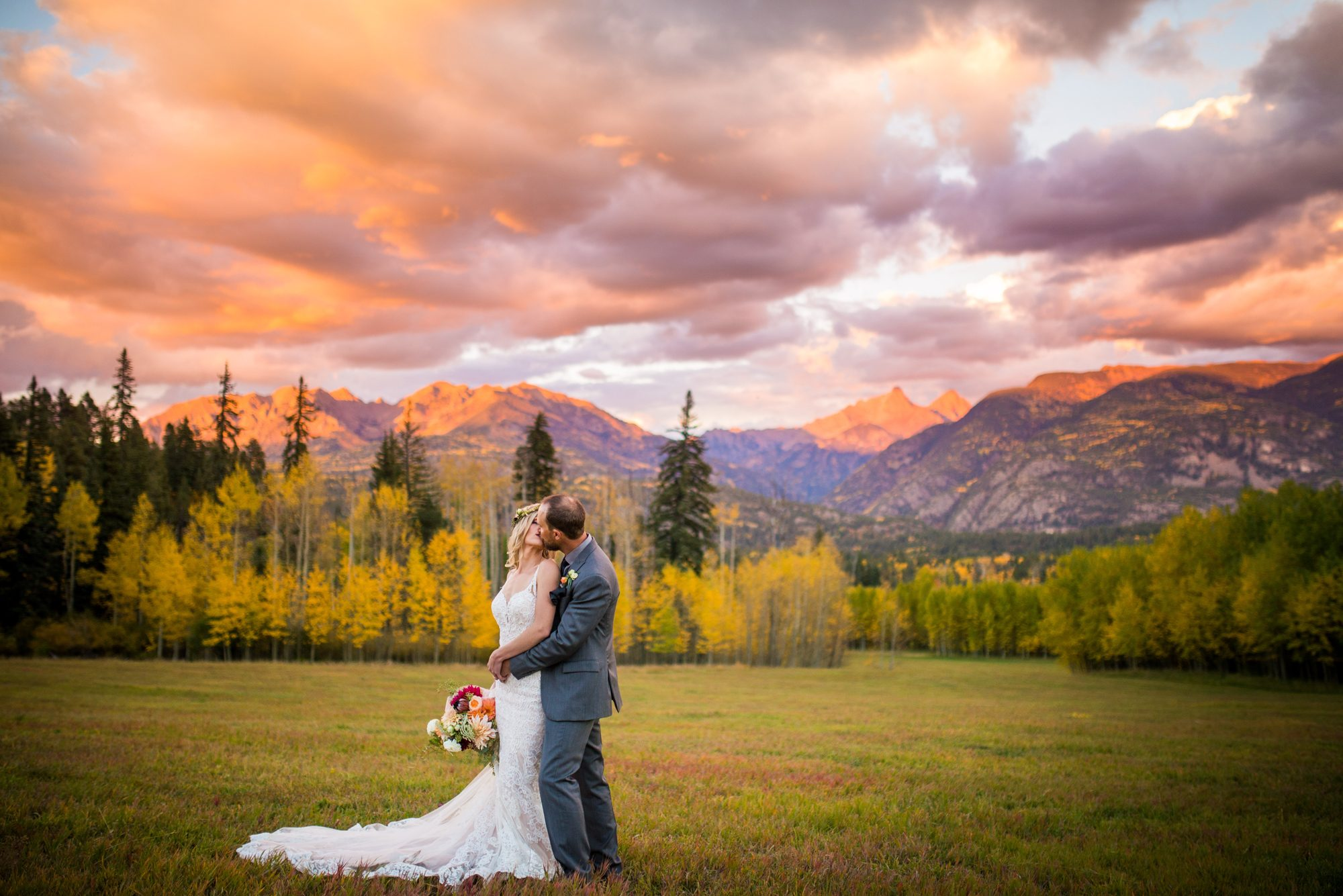 A Stunning Autumn Mountain Wedding in Durango, Colorado