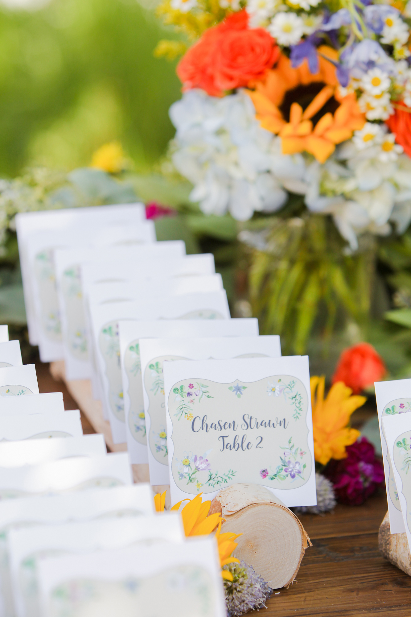 A Lush Secret Garden Mountain Wedding in Colorado