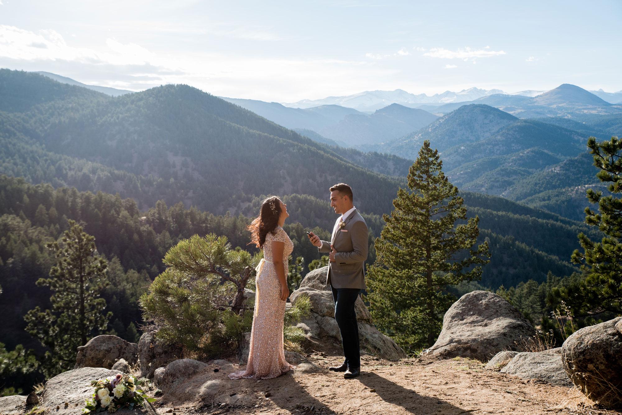 A Relaxed Mountain Elopement in Boulder, Colorado
