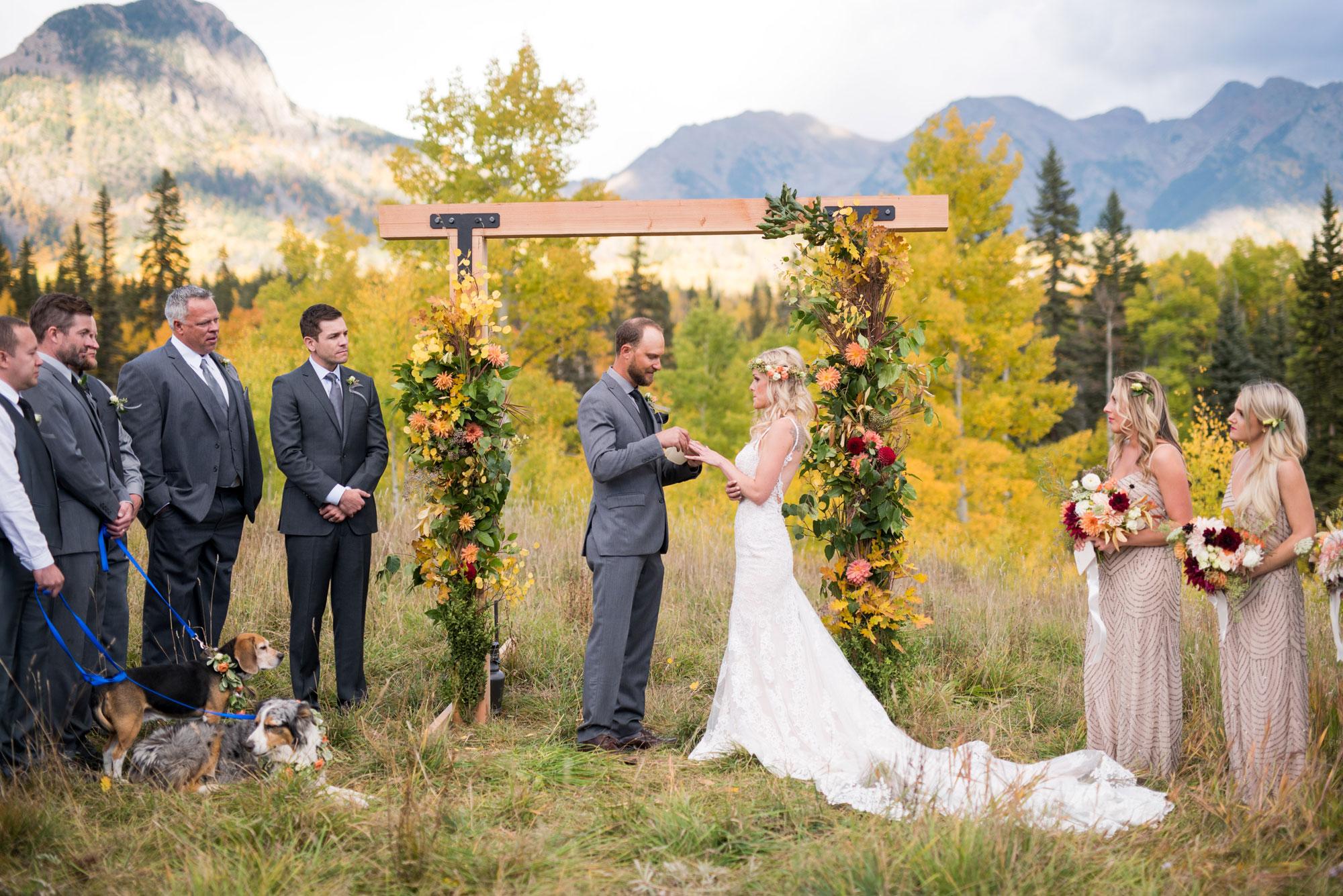 A Fall Rocky Mountain Wedding in Durango, Colorado