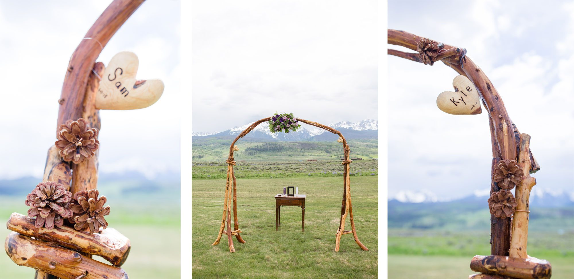 A Mountain Wedding at the Silverthorne Pavilion
