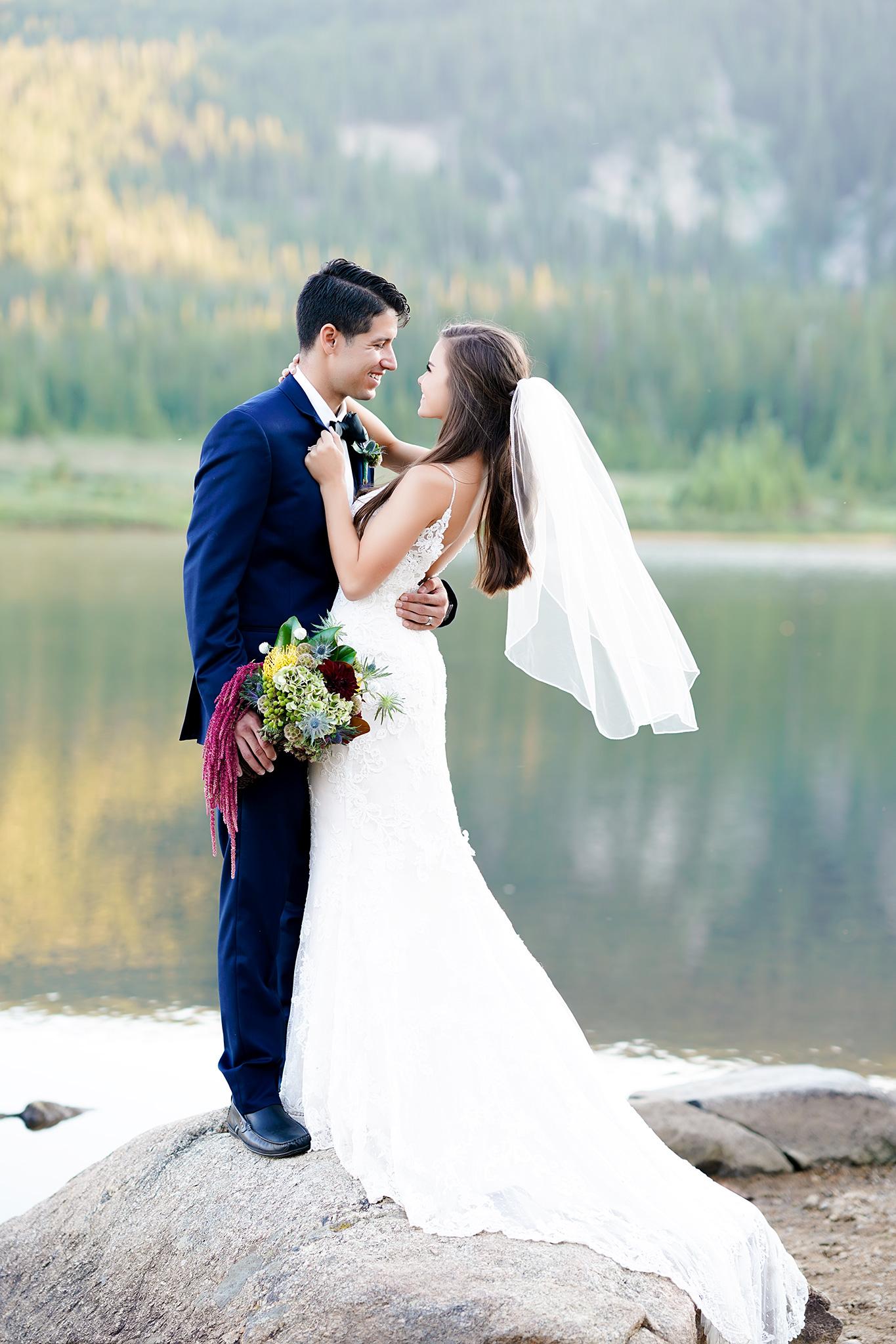 Wedding Photography Websites Inspiration: Rocky Mountain Wedding Inspiration