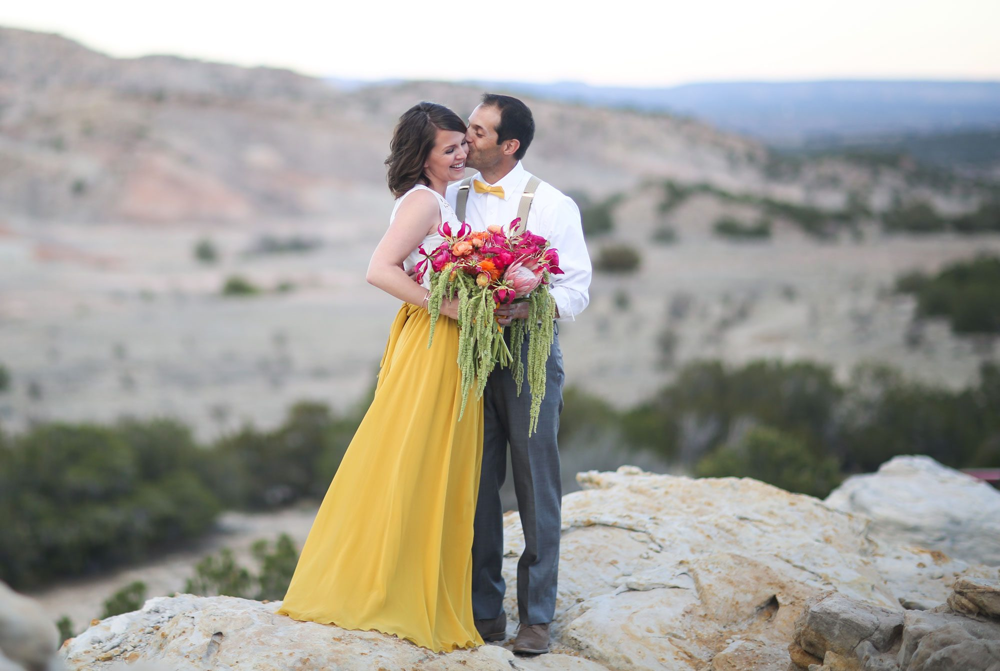 A Vibrant Desert Elopement in New Mexico