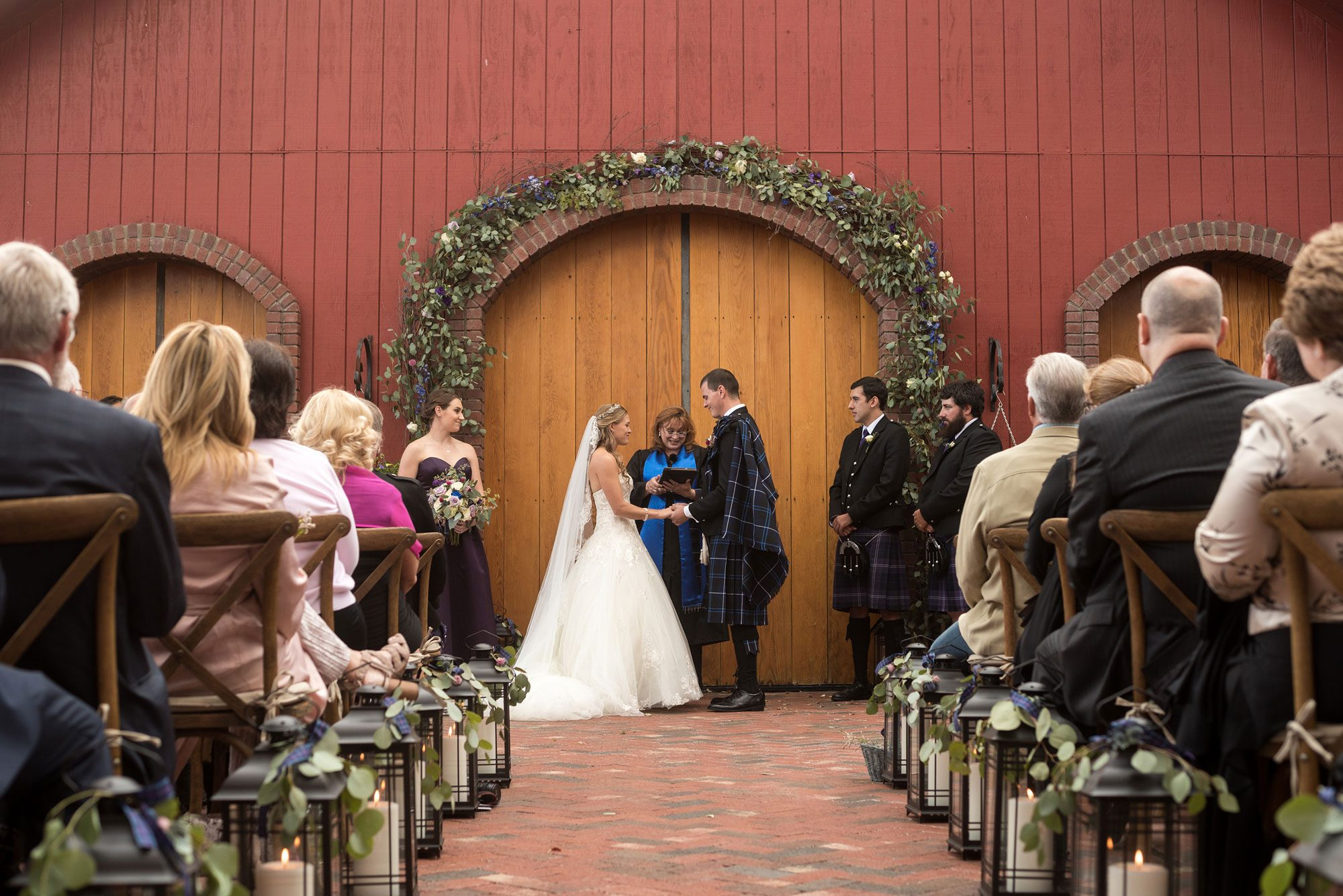 A Scottish Inspired Wedding in Colorado