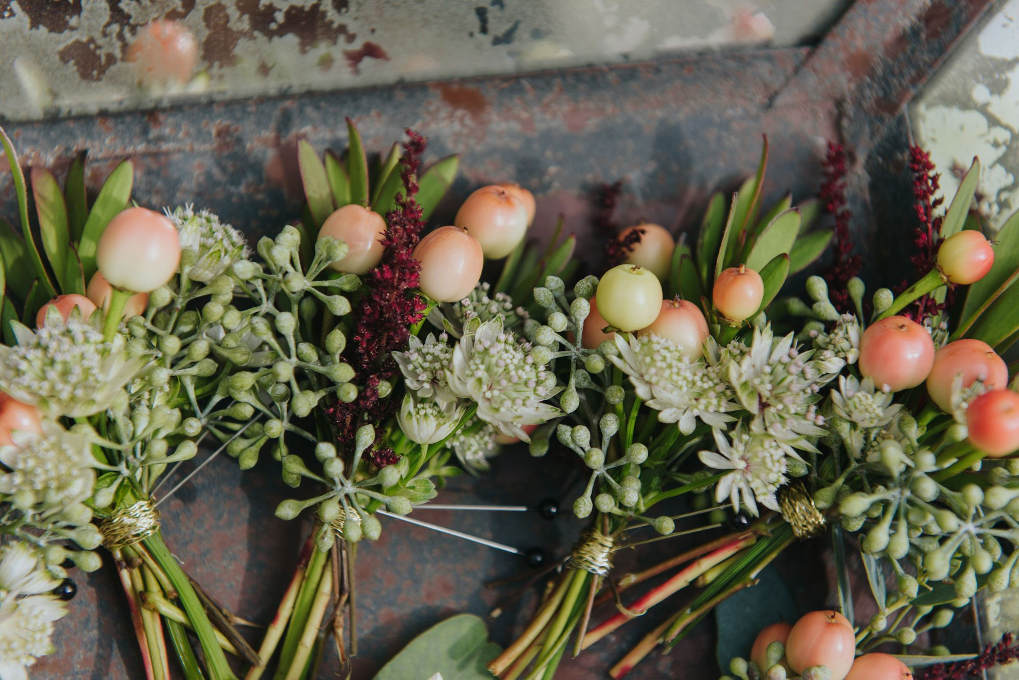 Autumn florals from a Rocky Mountain wedding in Eagle, Colorado