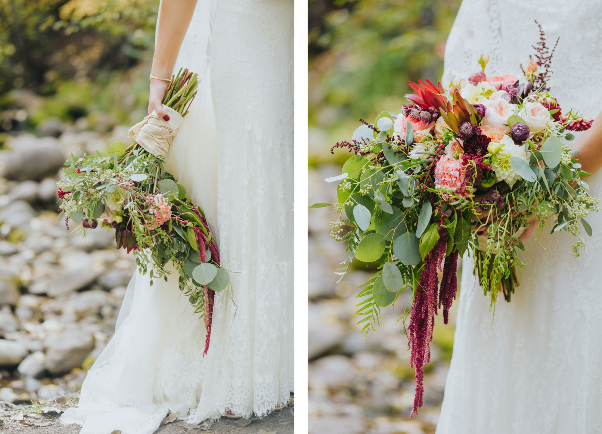 Fall wedding boquet from a Rocky Mountain wedding in Eagle, Colorado