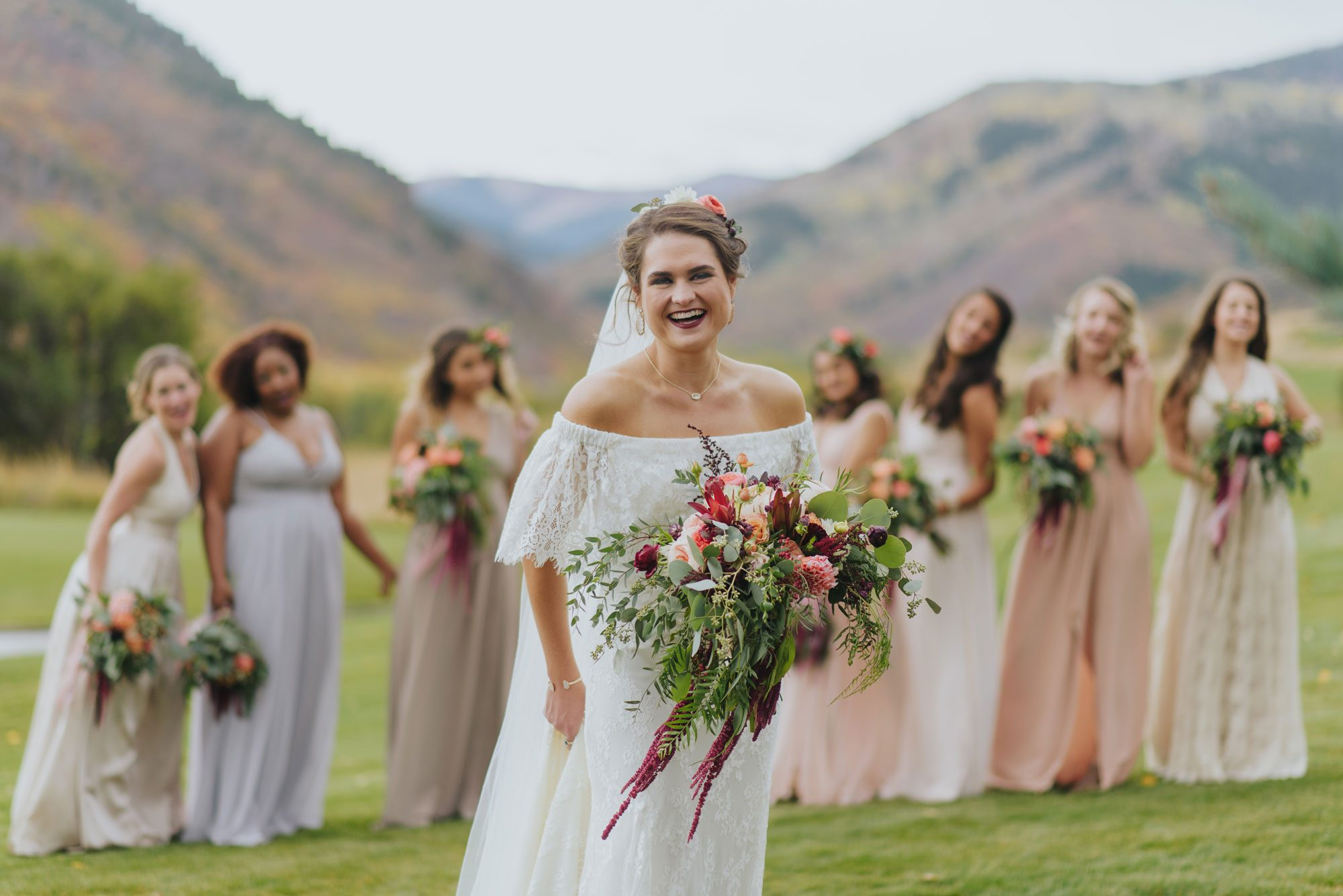 Bride Tribe | Rocky Mountain wedding in Eagle, Colorado