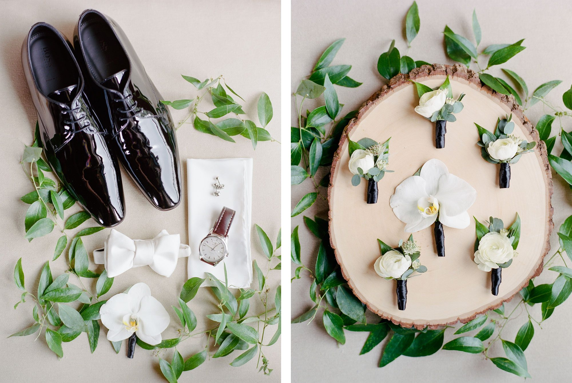 Groom Details - A Black Tie Rocky Mountain Destination Wedding