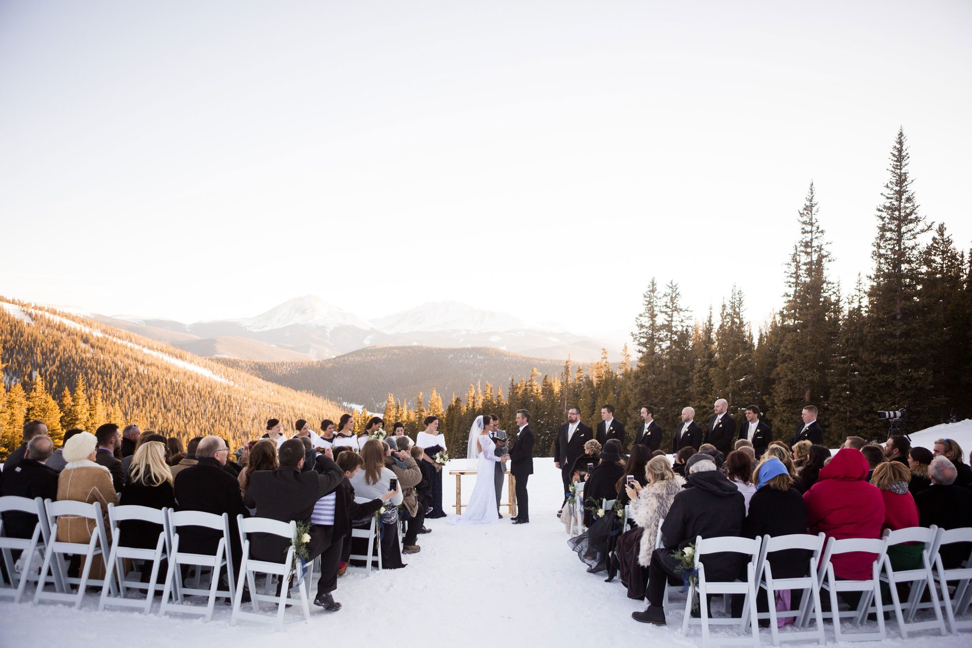 Winter weddings archives luxe mountain weddings mountain a winter wedding in keystone junglespirit Image collections