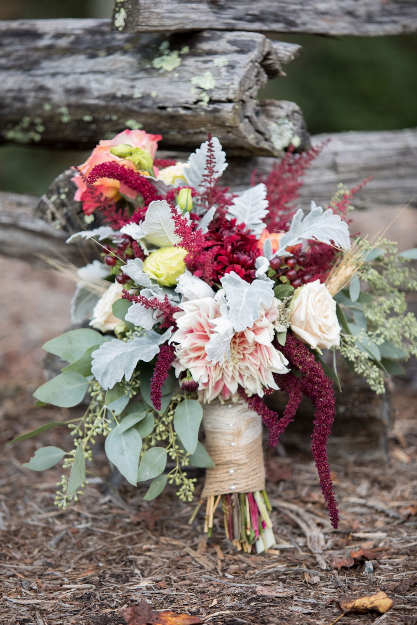 Gorgeous fall inspired boquet for the mountains