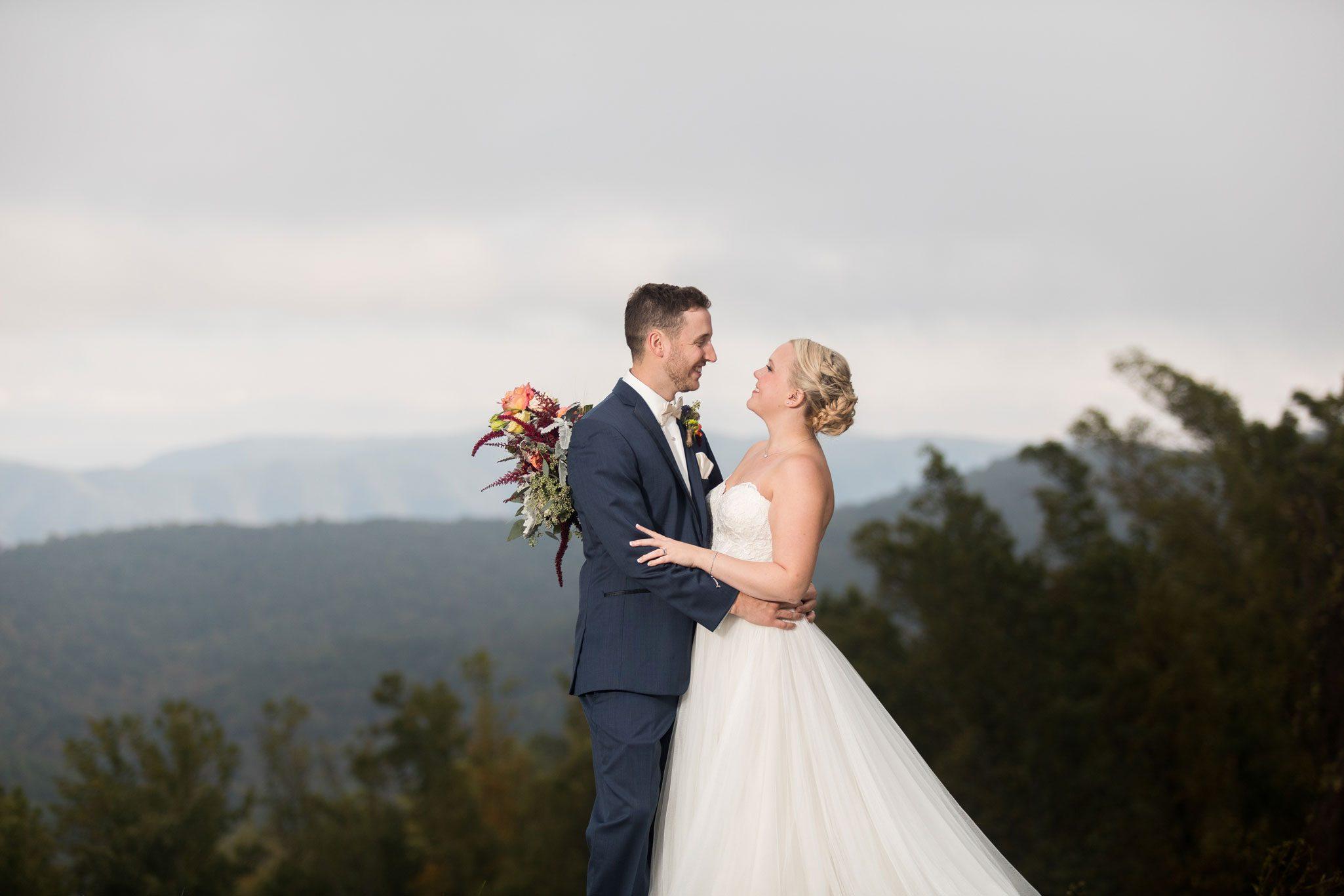 Blue Ridge Mountain Wedding, North Carolina