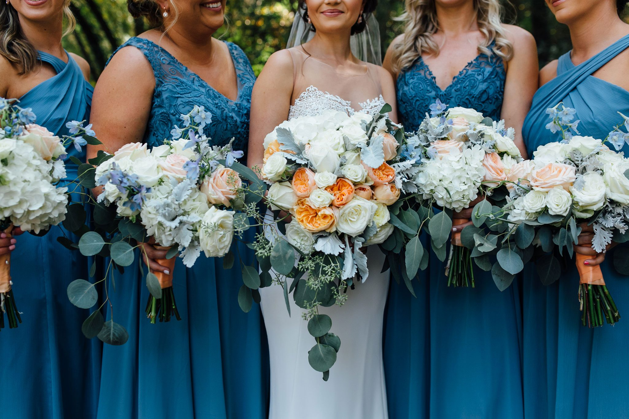 Florals from A Romantic Backyard Wedding in Wine Country, Napa Valley California