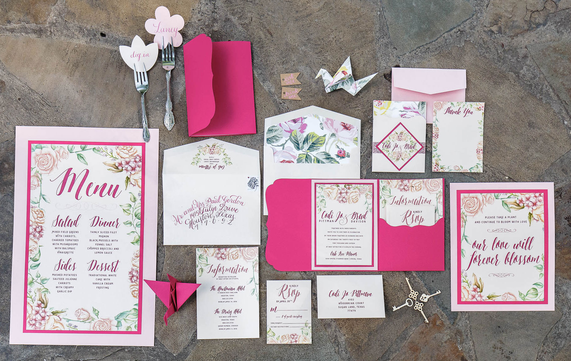 Invitation Suite | Spring Garden Wedding