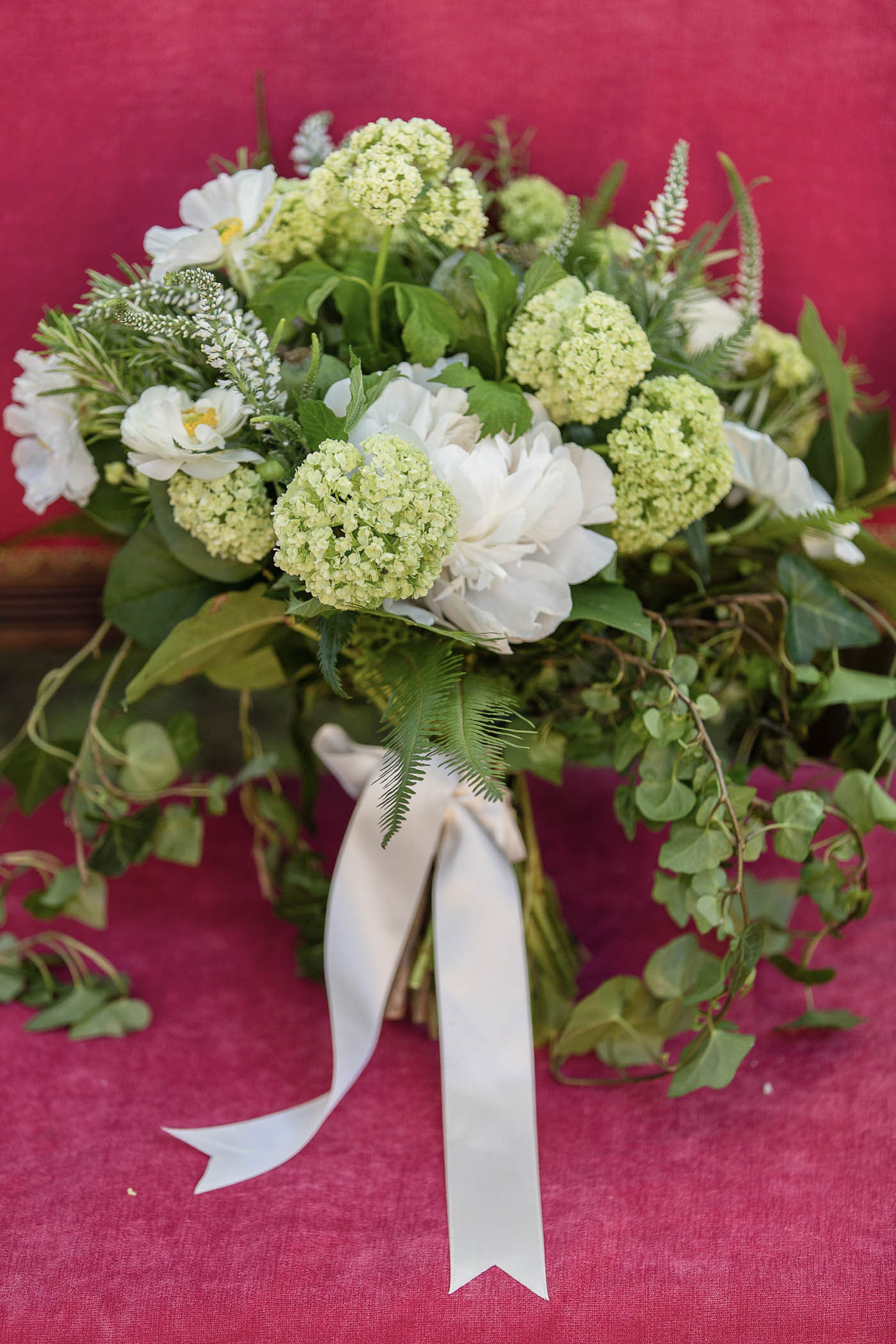 Green Bouquet | Spring Garden Wedding
