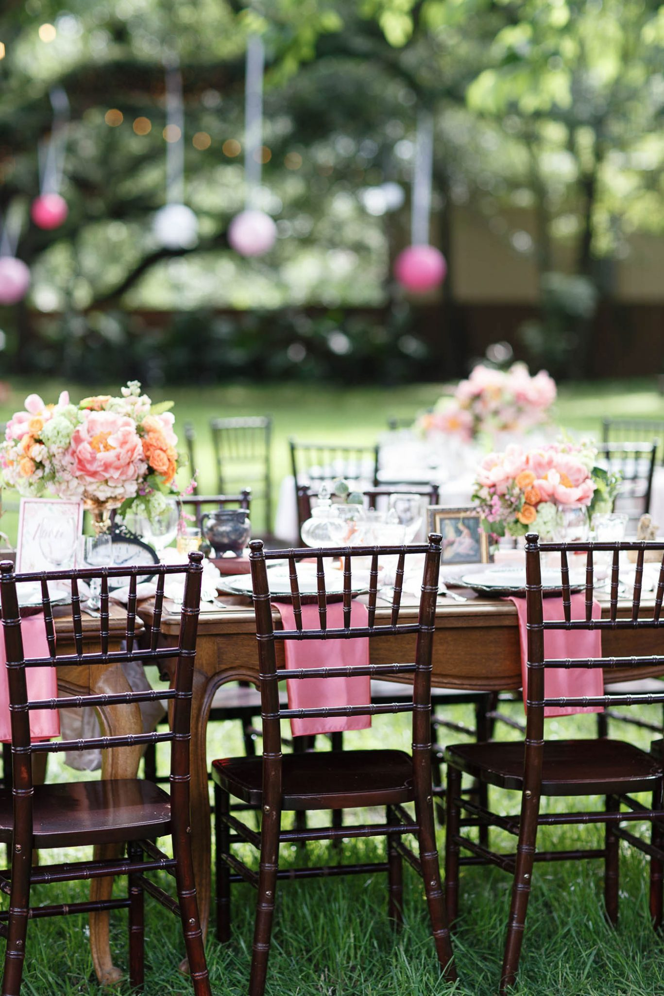 Tablescape | Spring Garden Wedding