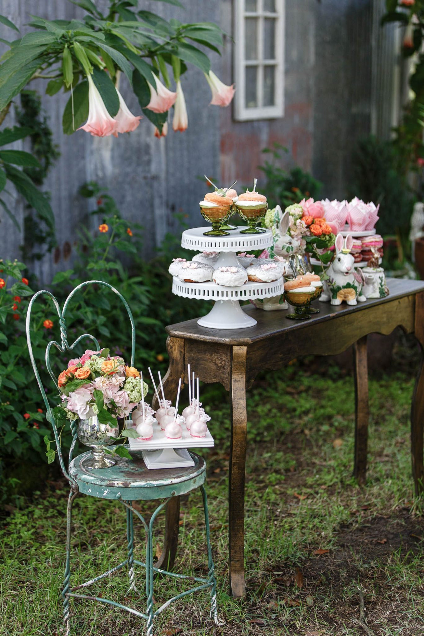 Dessert table | Spring Garden Wedding