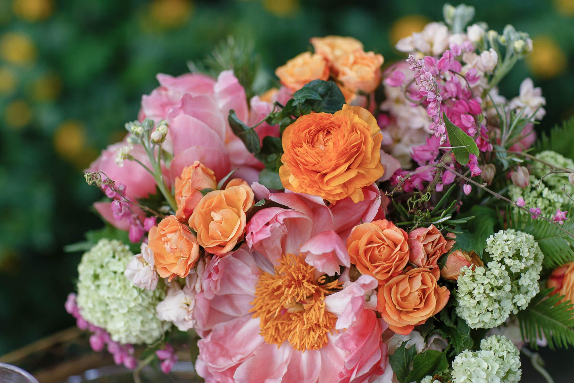 Peony & Rose | Spring Garden Wedding