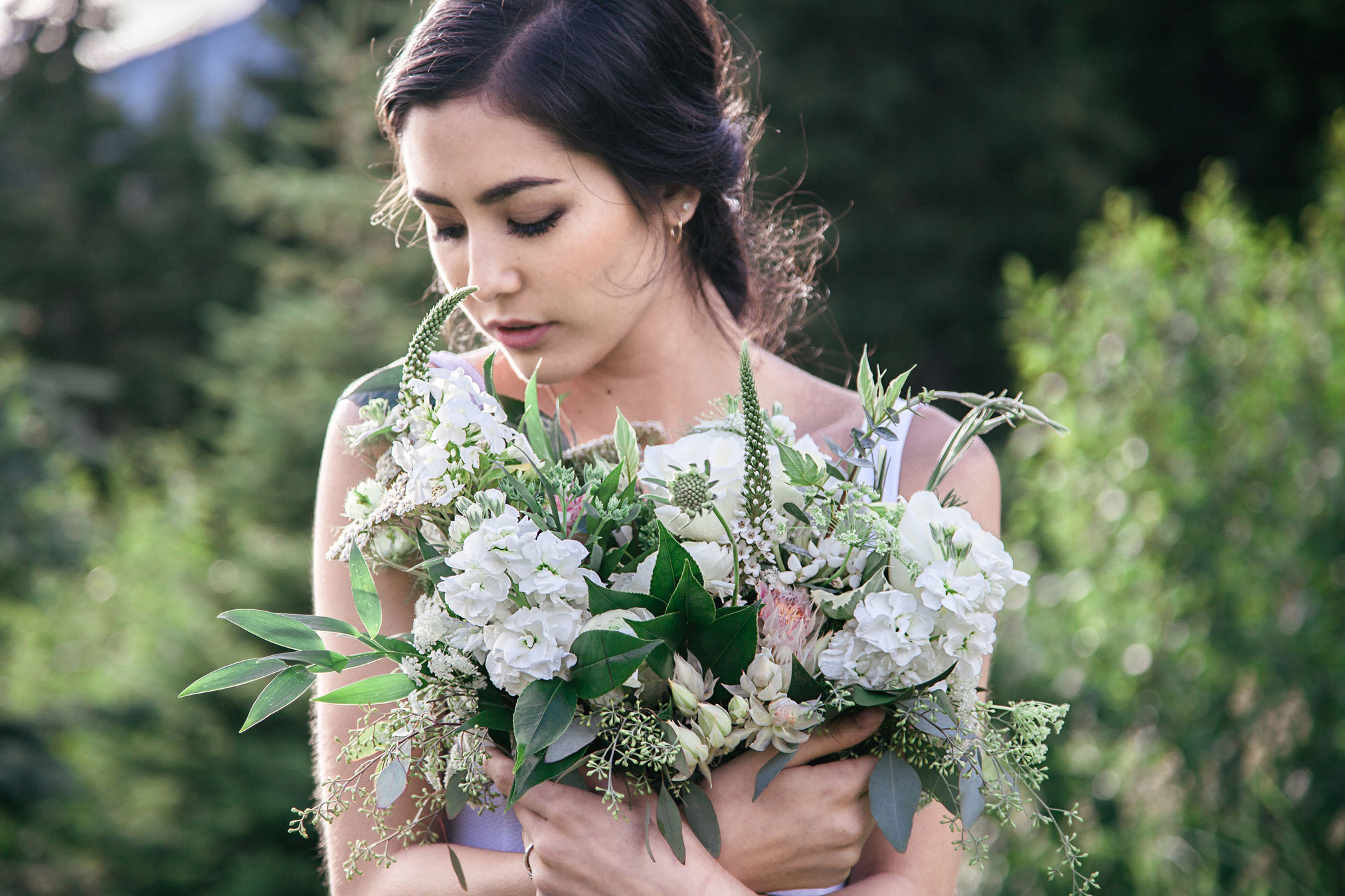 Rocky Mountain Bridal Shoot