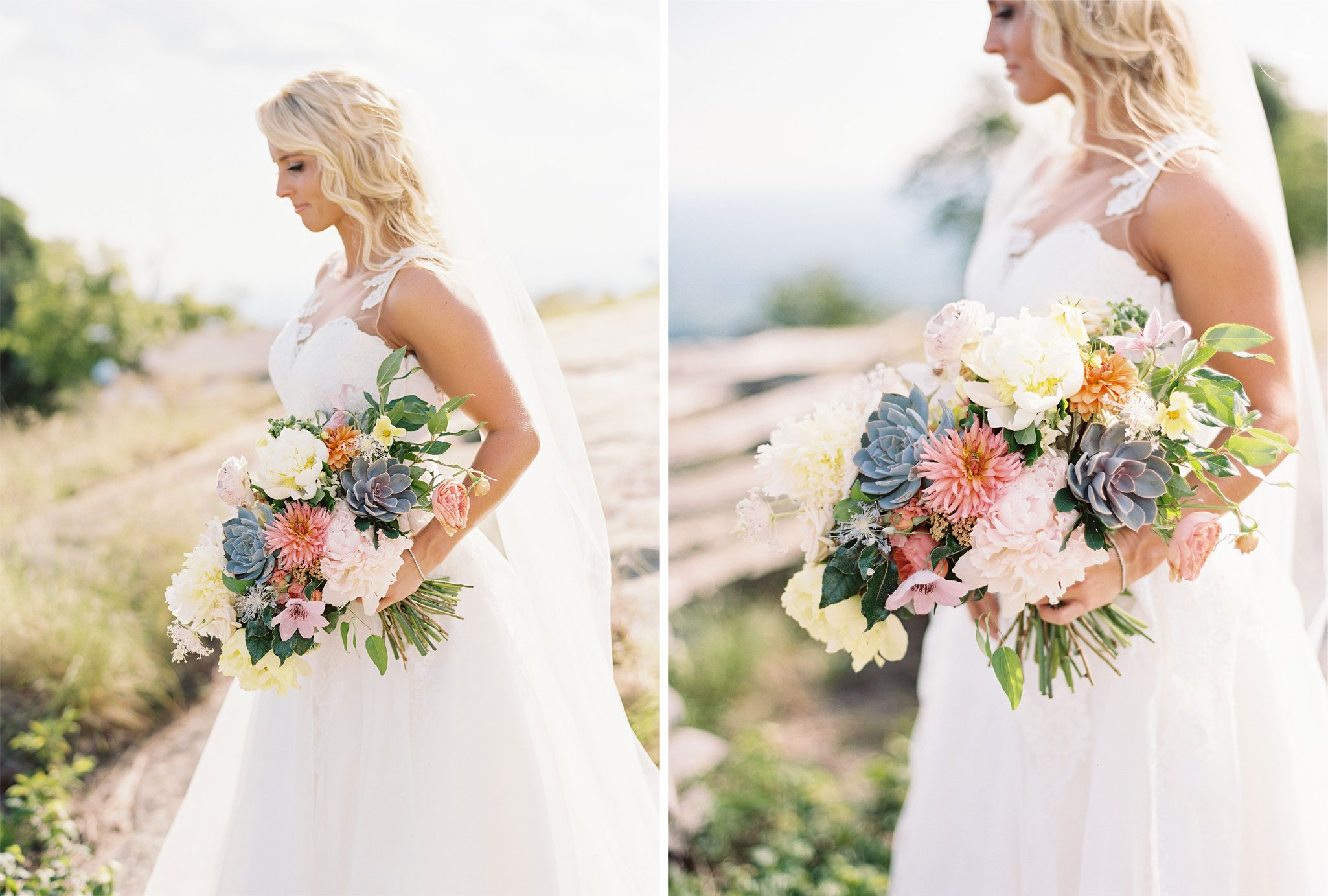 Bride | A Blue Ridge Mountain Wedding in South Carolina