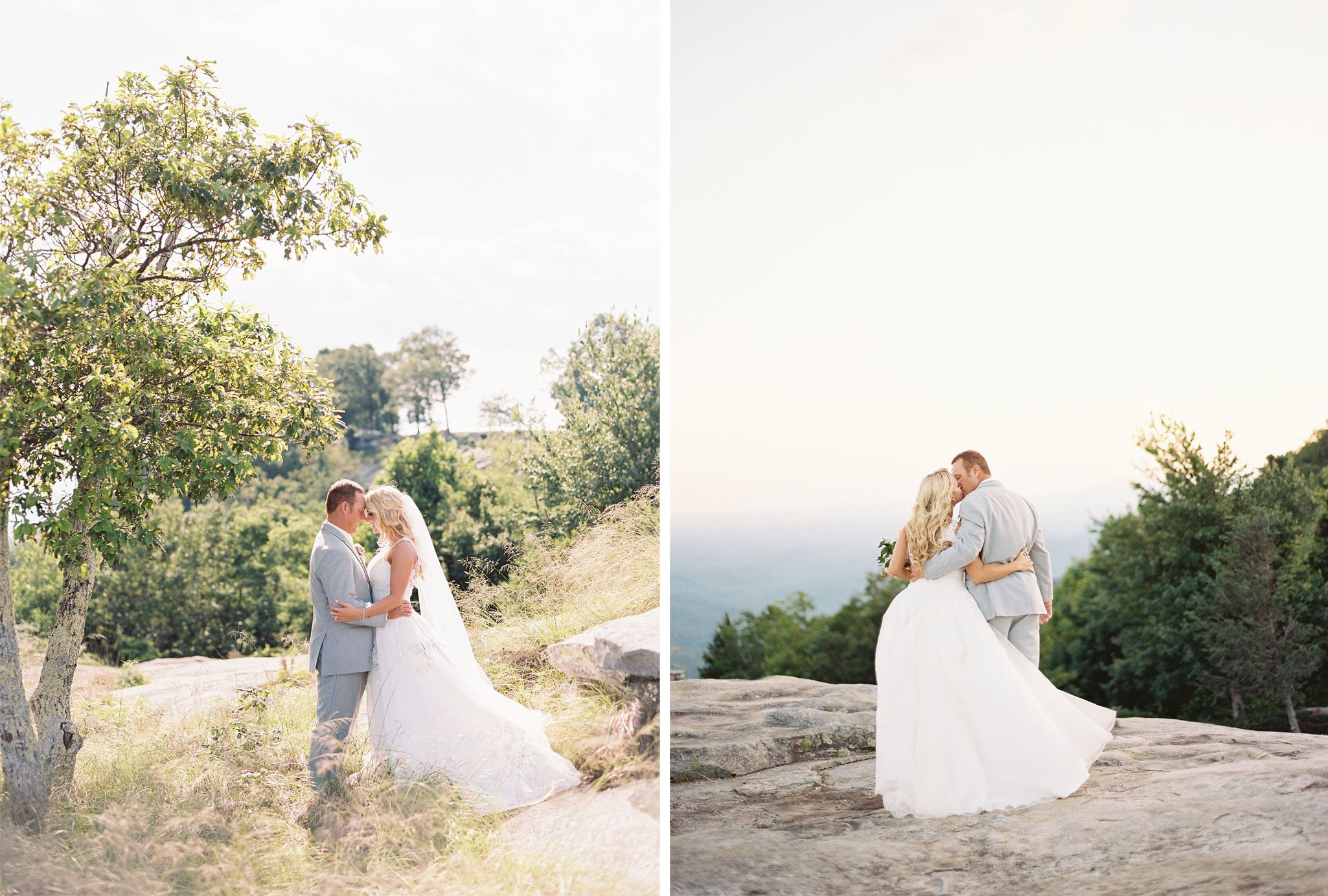 Bride & Groom | Blue Ridge Mountain Wedding in South Carolina