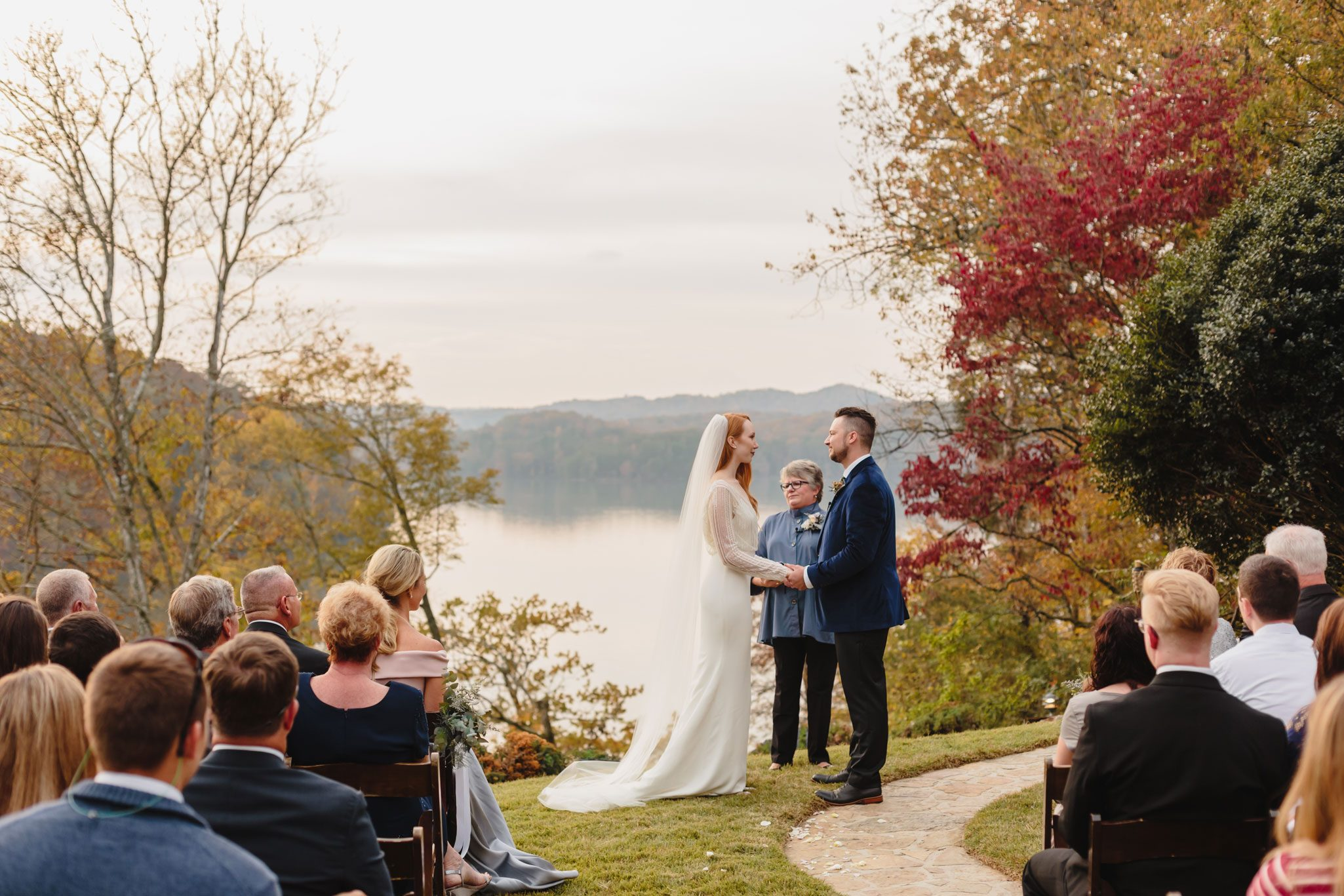 An Autumn Mountain Wedding in Tennessee