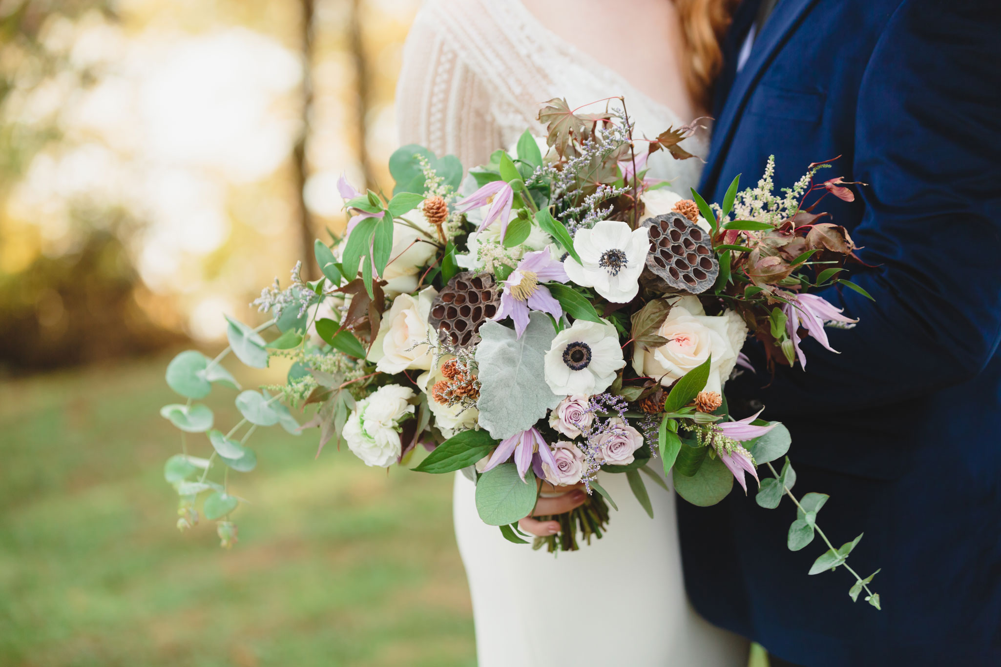 Wedding Florals | Autumn Tennessee Wedding in Knoxville
