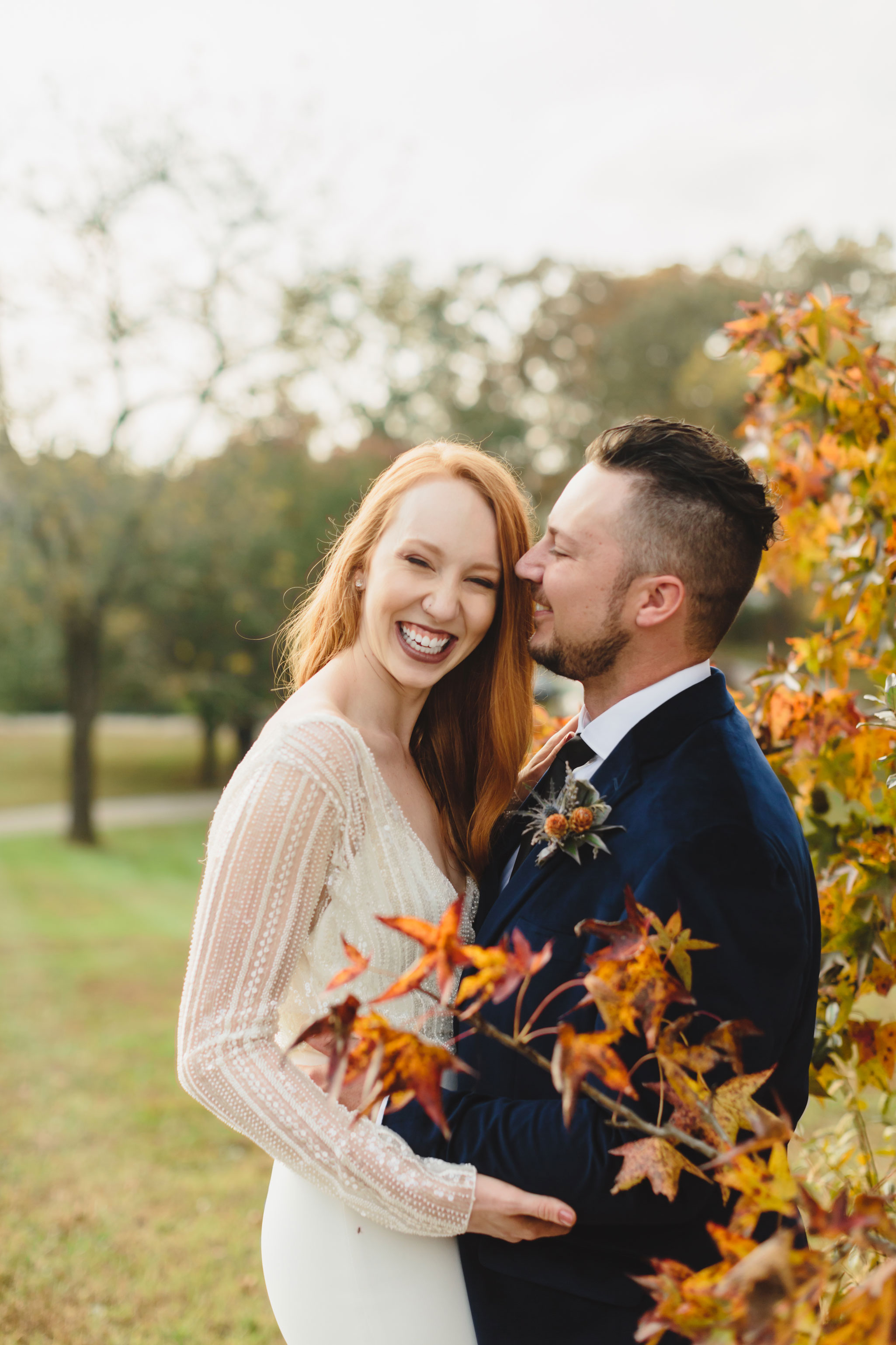 Autumn Tennessee Wedding in Knoxville
