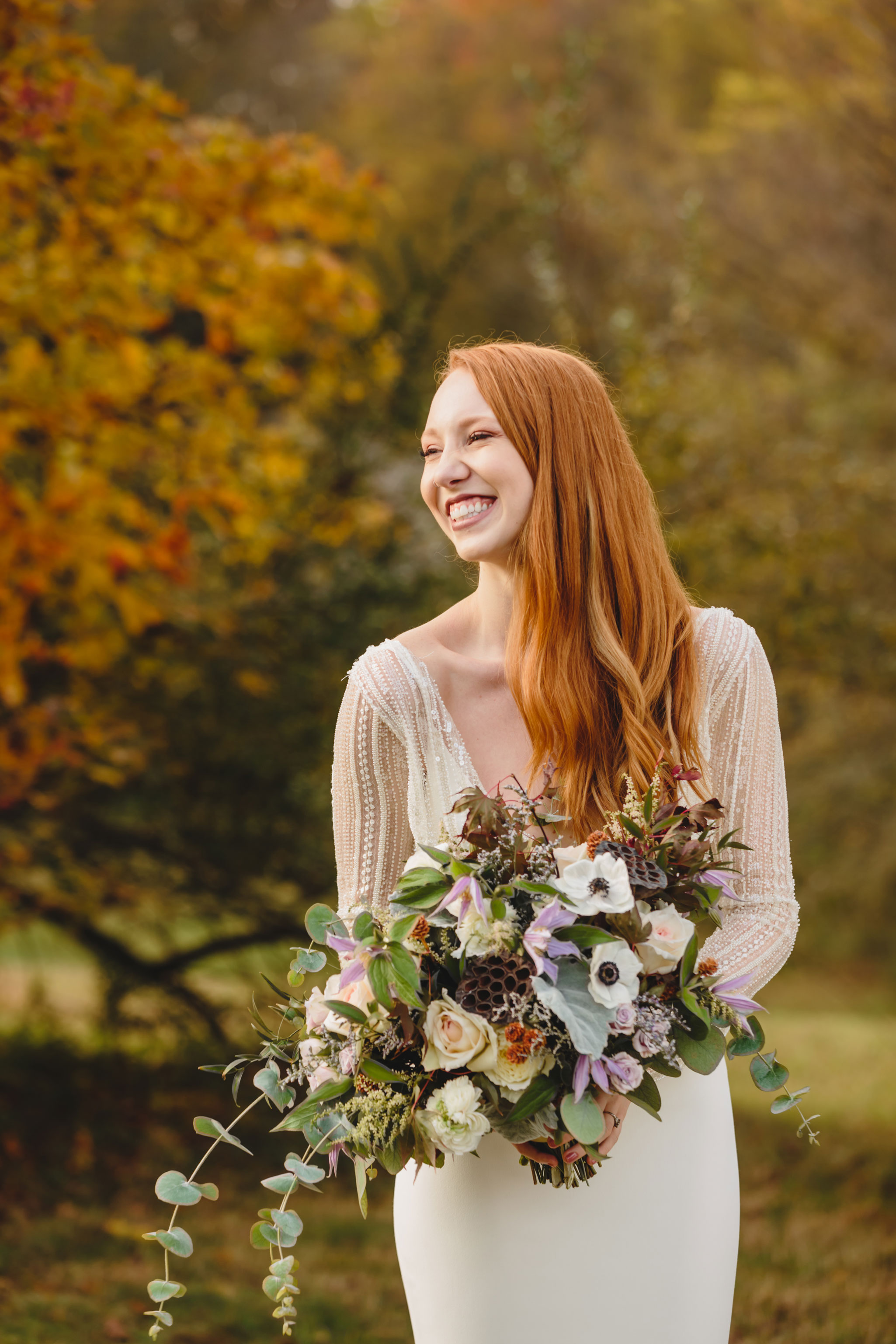 Autumn Tennessee Wedding in Knoxville, TN