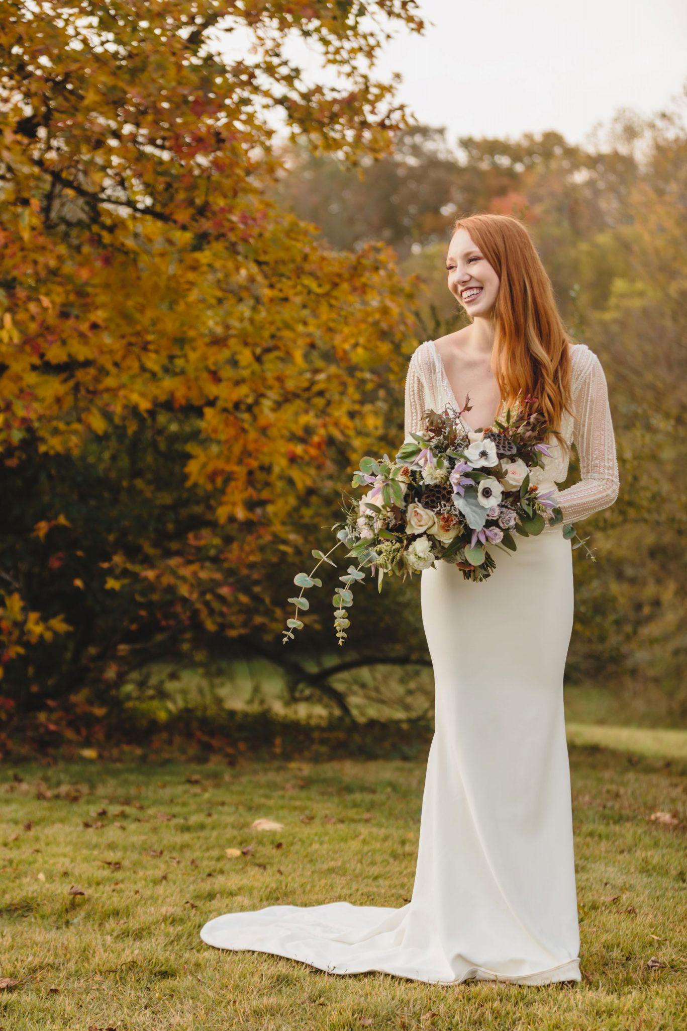 Bride | Autumn Tennessee Wedding in Knoxville