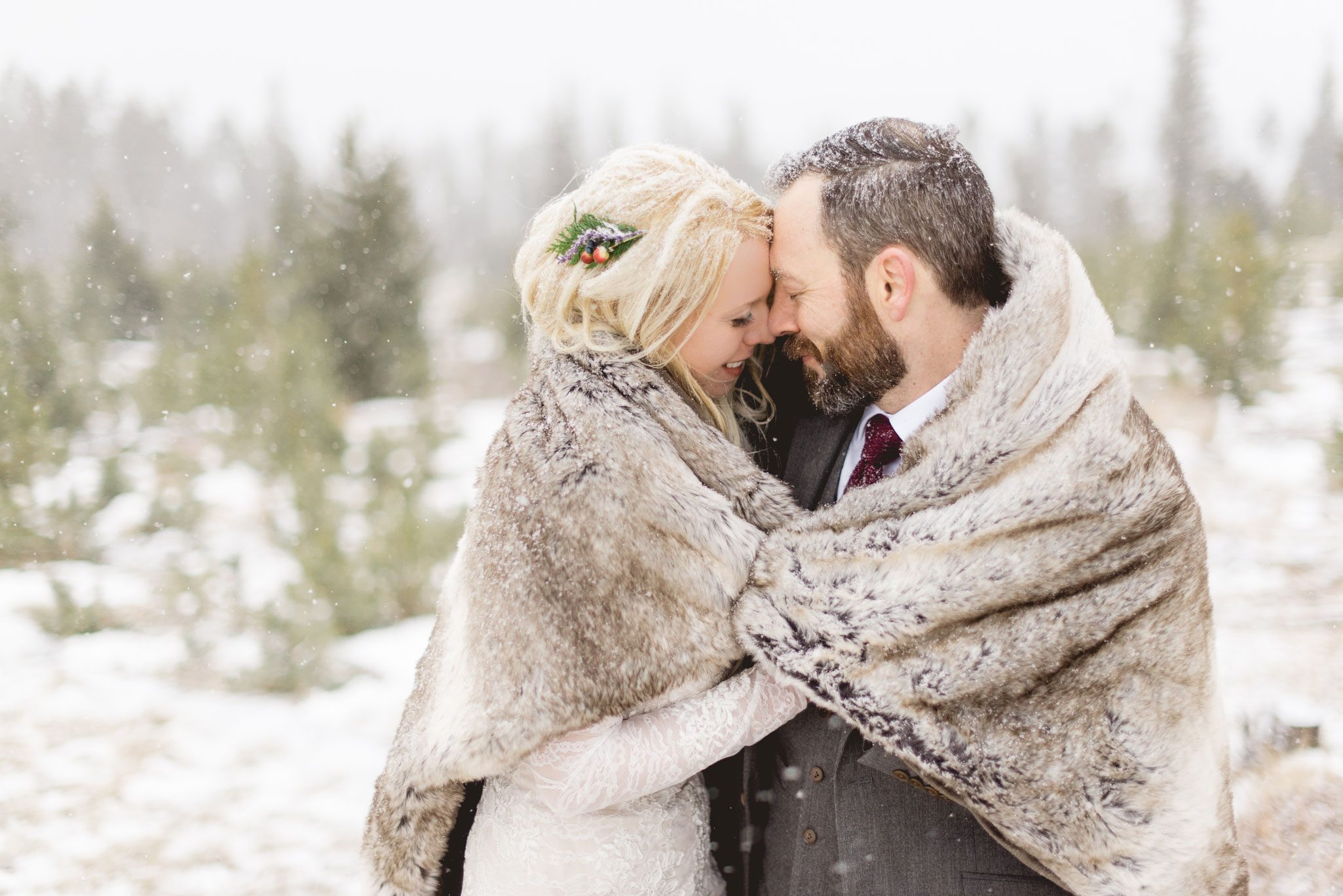 A Winter Elopement in Colorado