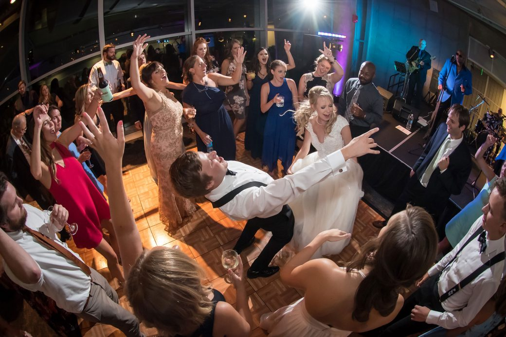 Wedding reception at The Denver Museum of Nature and Science