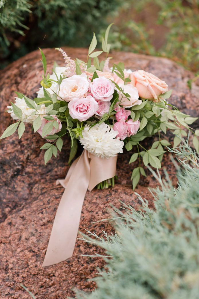 Floral Bouquet | Vintage Meets Glam Inspiration in the Mountains, Garden of Gods, Colorado