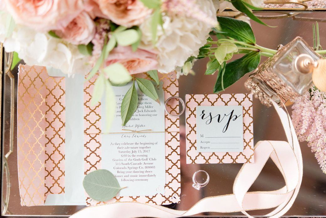 Invitation Suite | Vintage Meets Glam Inspiration in the Mountains