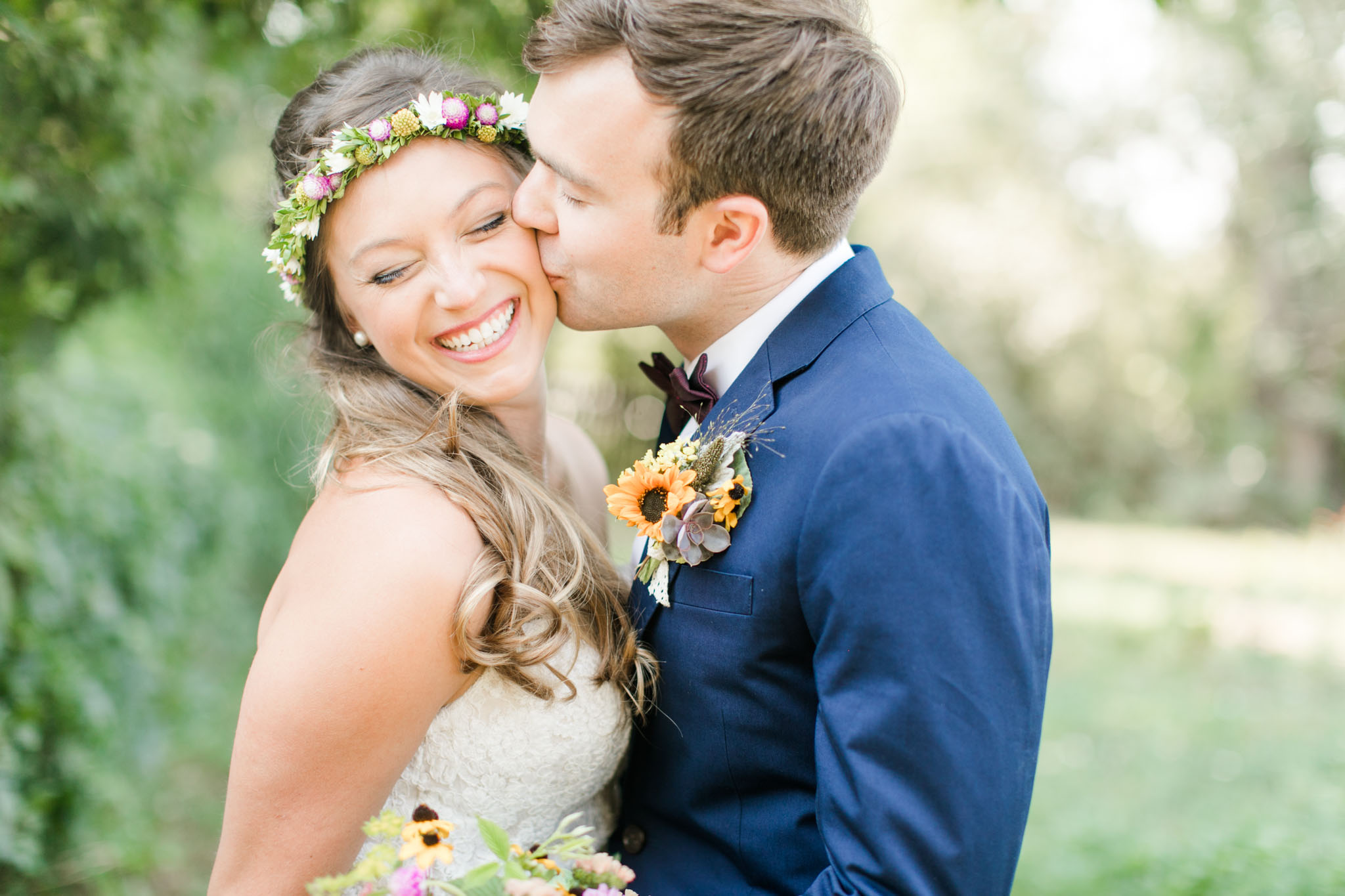 A Boho Garden Wedding in Colorado