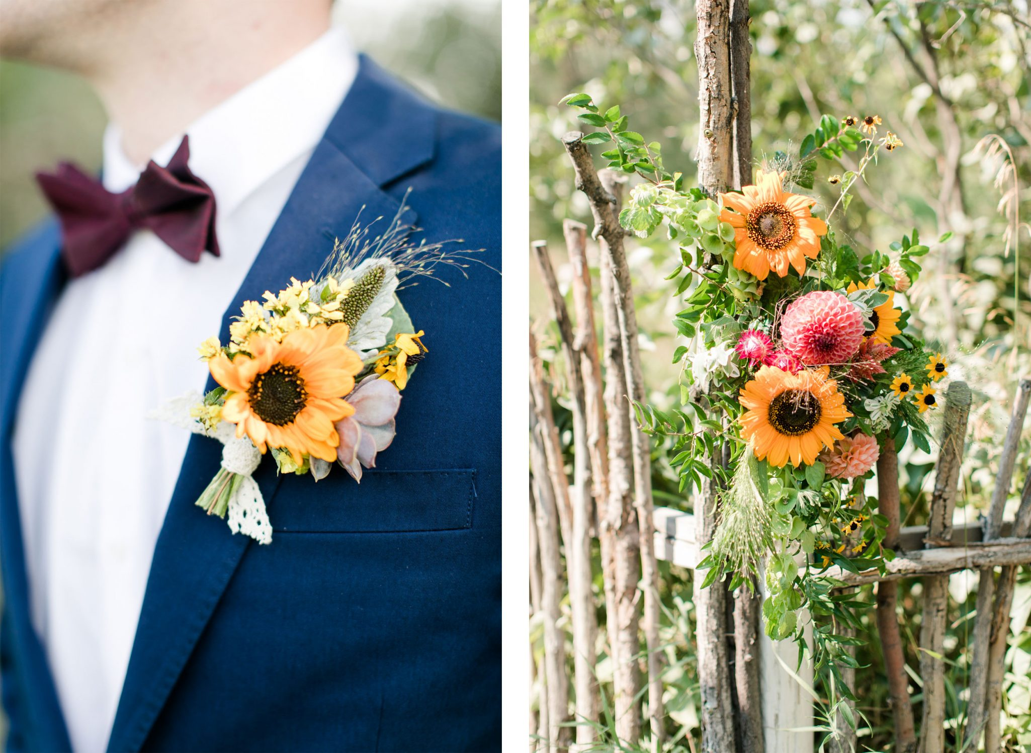 Florals | A Boho Garden Wedding in Colorado