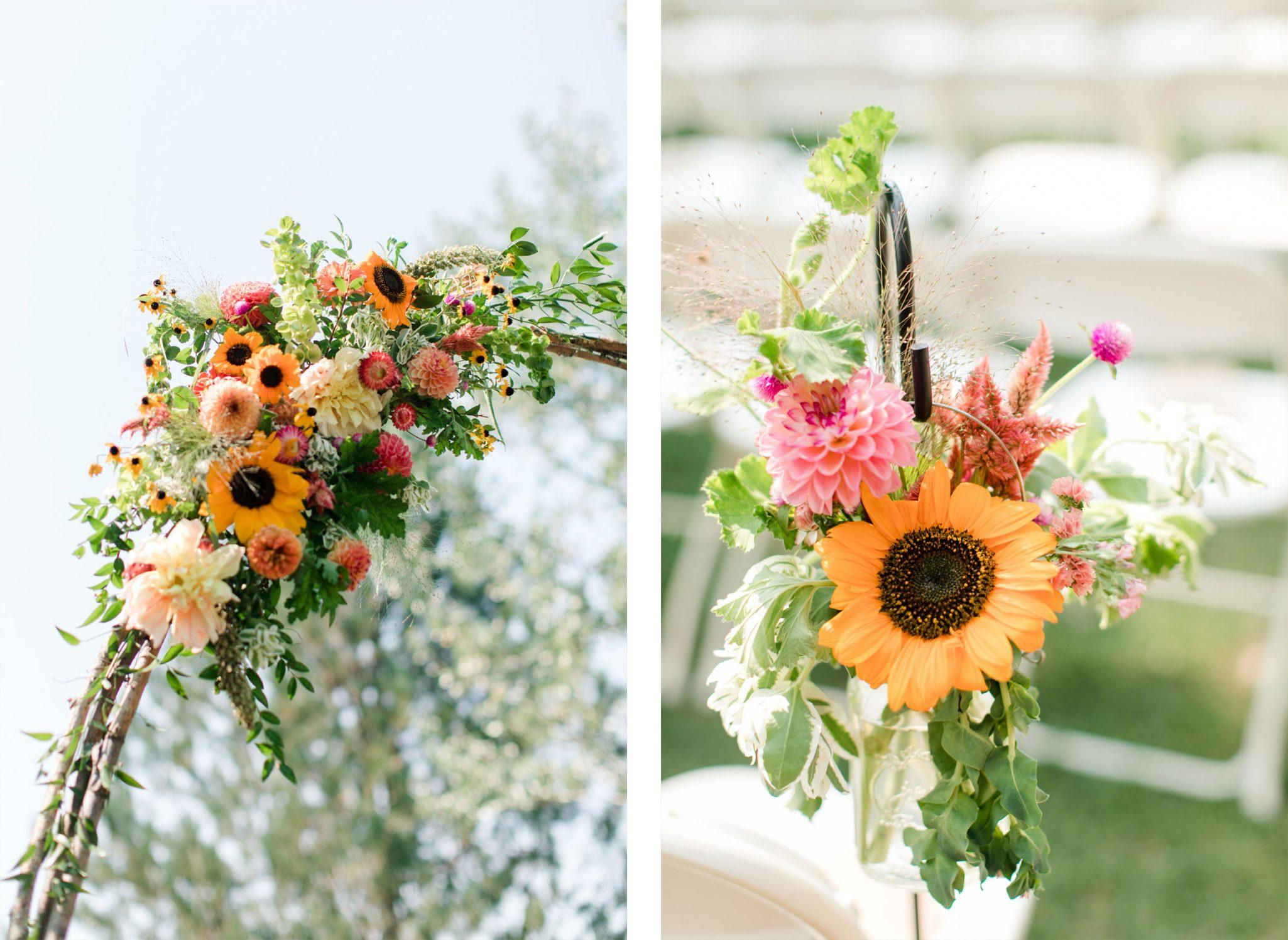 Flowers | A Boho Garden Wedding in Colorado