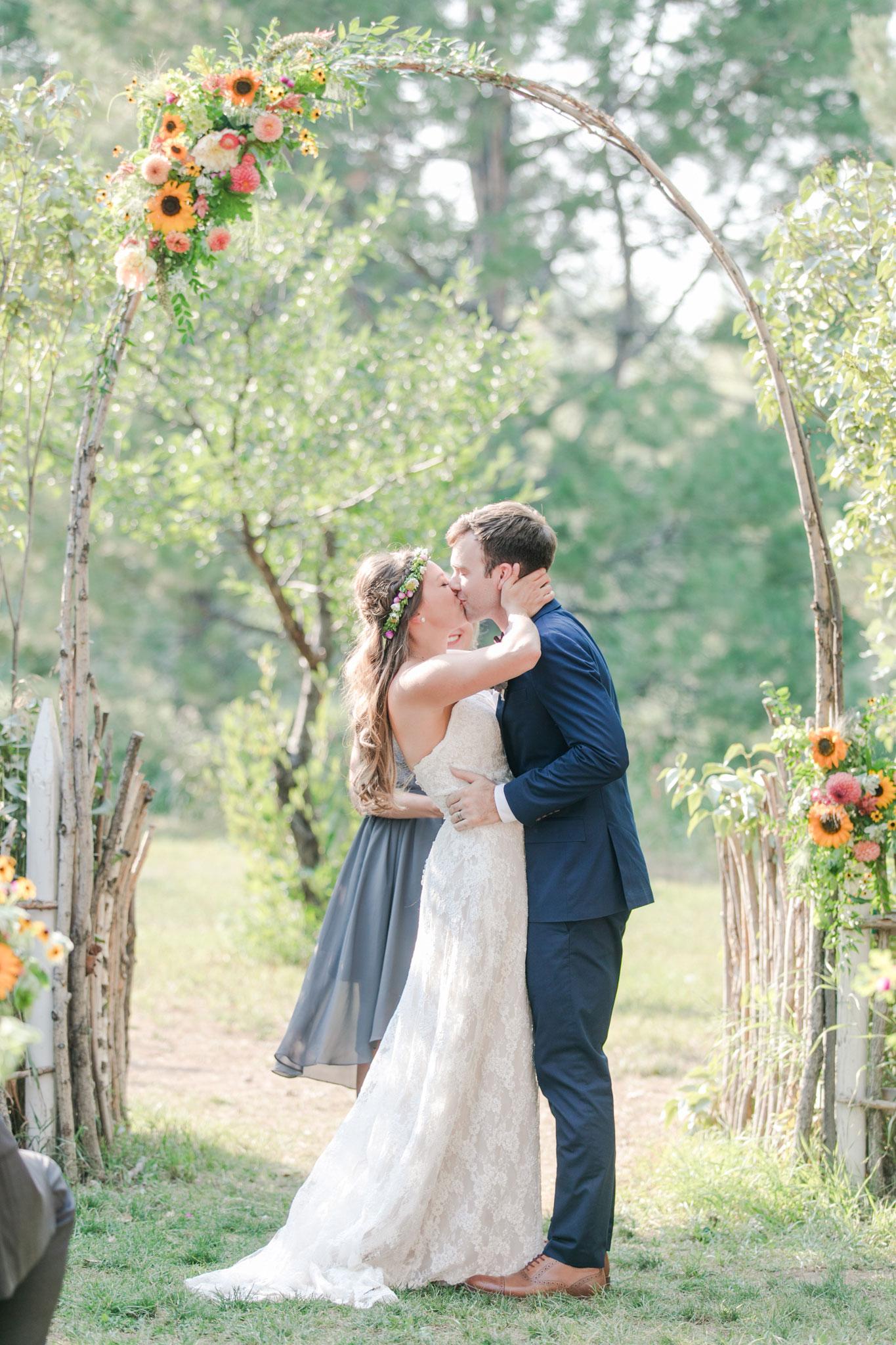 I Do | A Boho Garden Wedding in Colorado