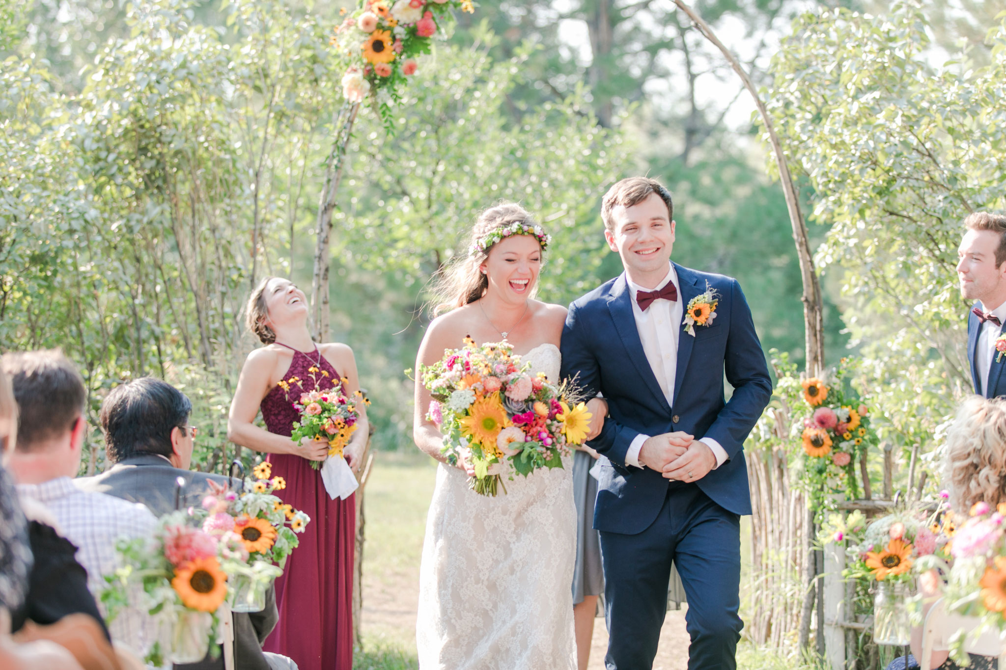 Happiness | A Boho Garden Wedding in Colorado