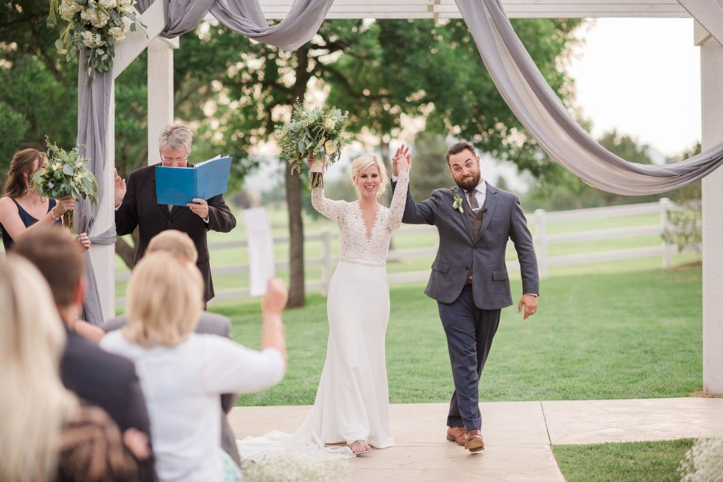 Ceremony | A Romantic outdoor wedding in Denver, Colorado