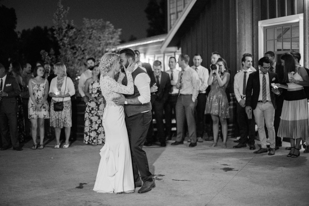 First Dance | A Romantic outdoor wedding in Denver, Colorado