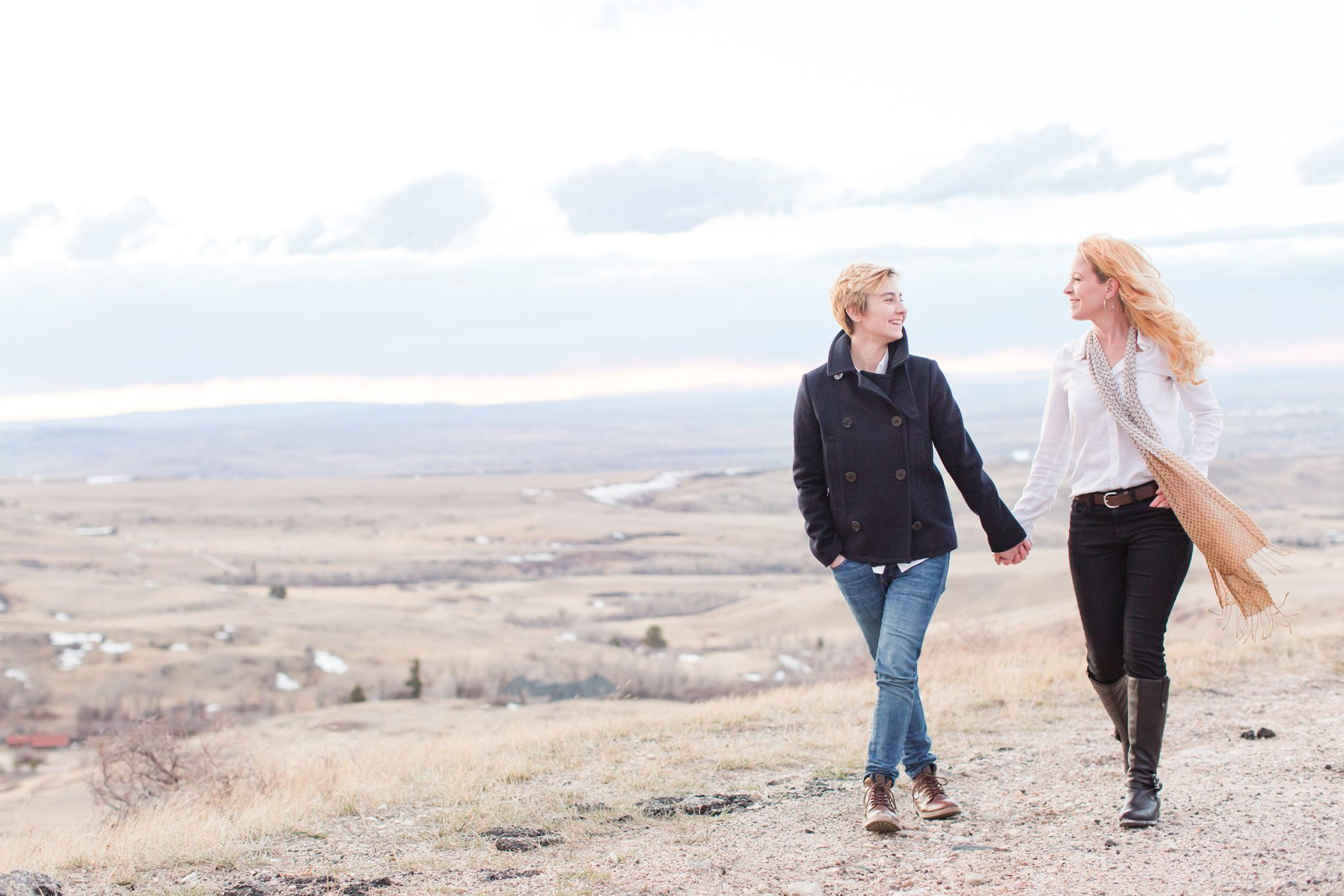 A Mountain Engagement in Wyoming