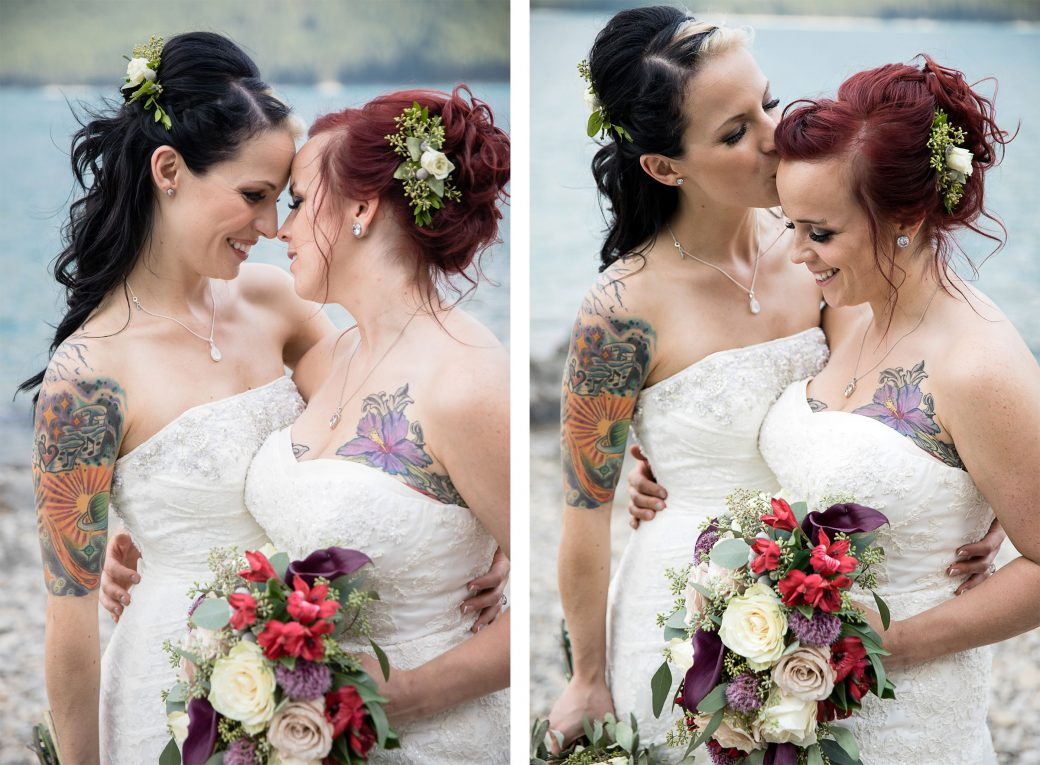 Same-Sex wedding in Banff, Canada