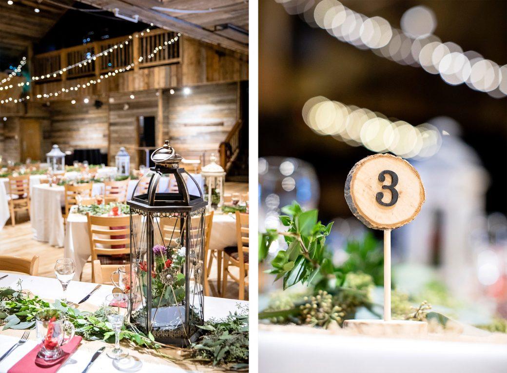 Same-Sex wedding reception in Banff, Canada