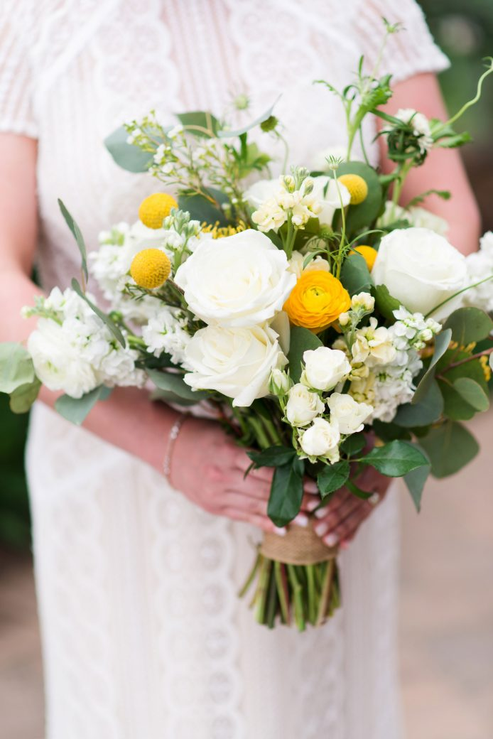 Flower bouquet | A Mountain Destination Wedding in Vail, Colorado
